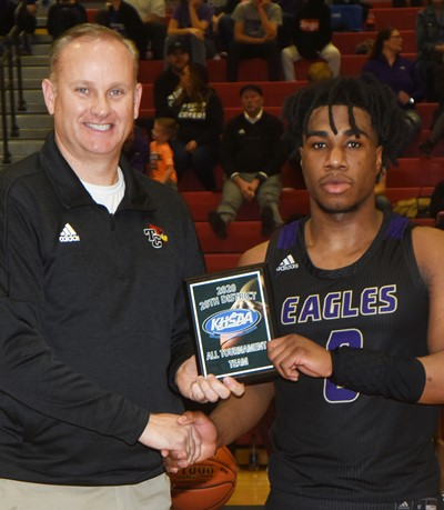 CHS senior Malachi Corley is named to the all-tournament team.