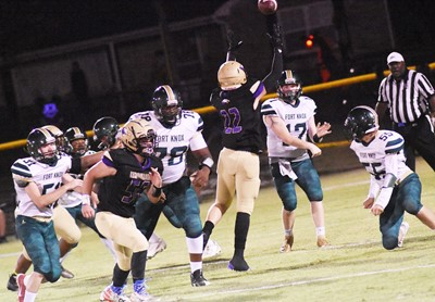 CHS senior Tyler Gribbins jumps to block a pass.