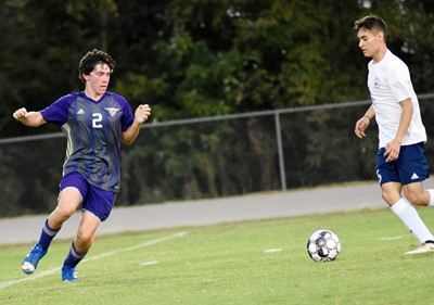 CHS sophomore Peyton Dabney fights for the ball.