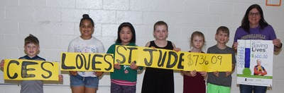 dd0c992ebfda07 Campbellsville Elementary School students recently raised nearly  800 in a  math-a-thon for