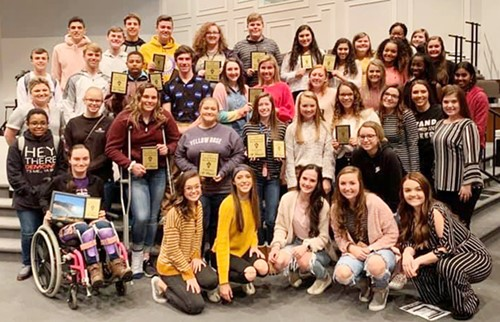 CHS Beta Club members competed at the annual Central Kentucky Beta Invitational recently and brought home several awards.