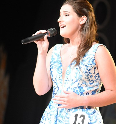 CHS senior Alli Wilson won talent, self-expression and interview awards at this year's DYW program, and was named second runner-up.