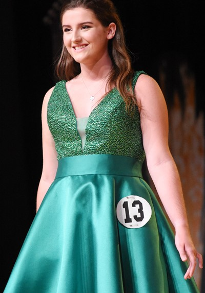 CHS senior Alli Wilson participates in the self-expression portion of the DYW program.