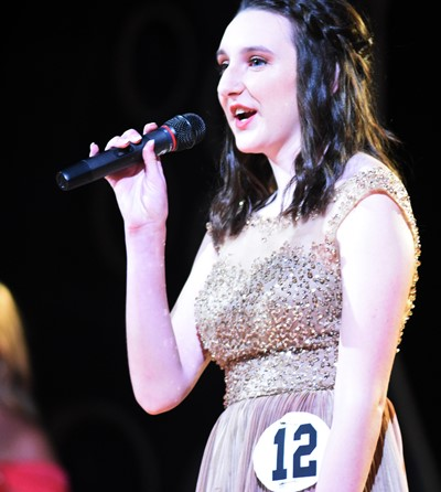 CHS senior Zoe McAninch participates in the self-expression portion of the DYW program.