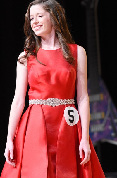 CHS senior Gracyne Hash participates in the self-expression portion of the DYW program.