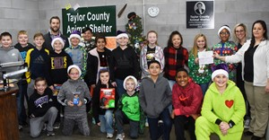 Campbellsville Independent Schools iEagle students recently donated food, toys and other items, in addition to money collected from recent fundraisers, to Taylor County Animal Shelter.