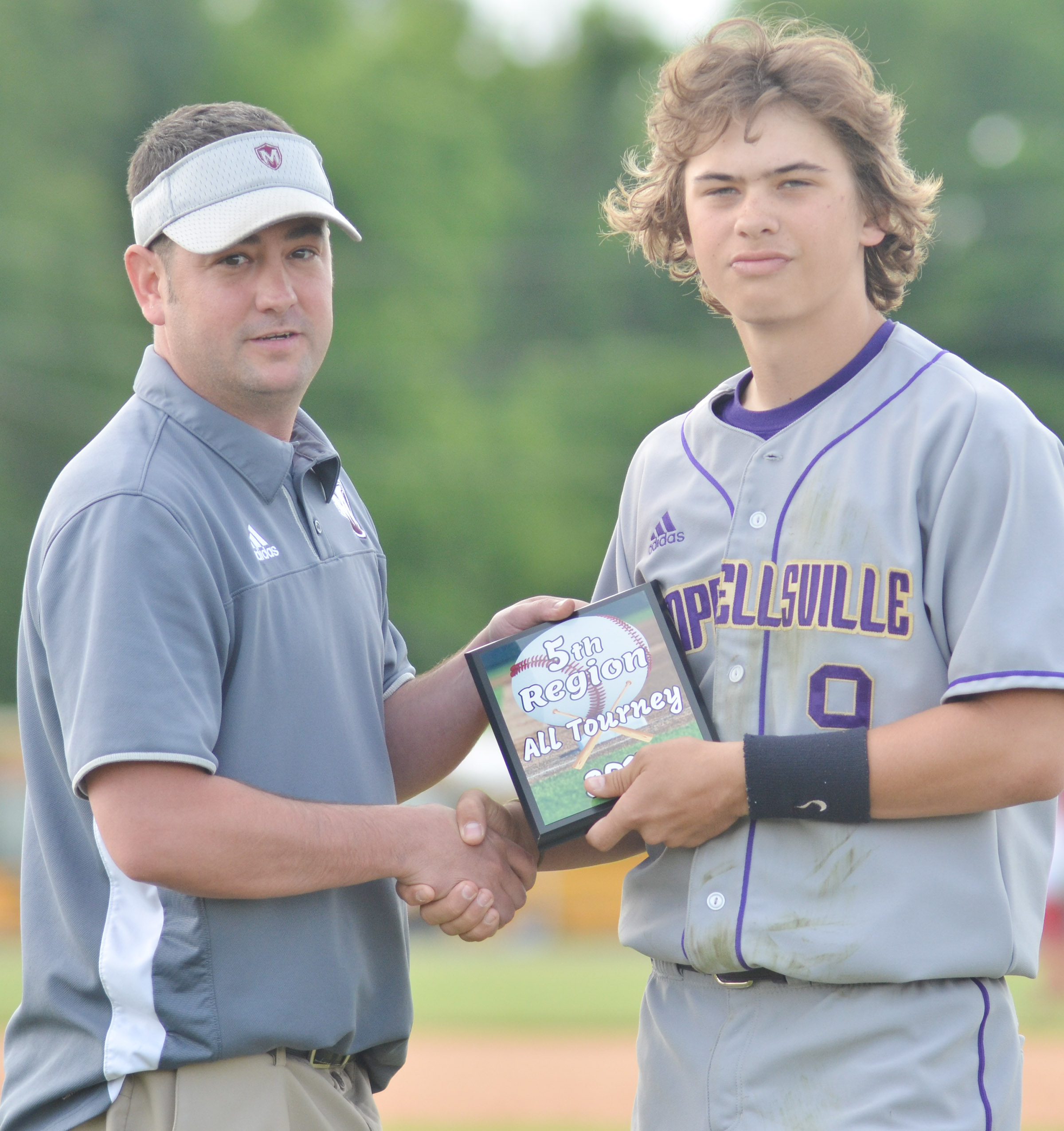 CHS sophomore Treyce Mattingly was named to the fifth region all-tournament team.