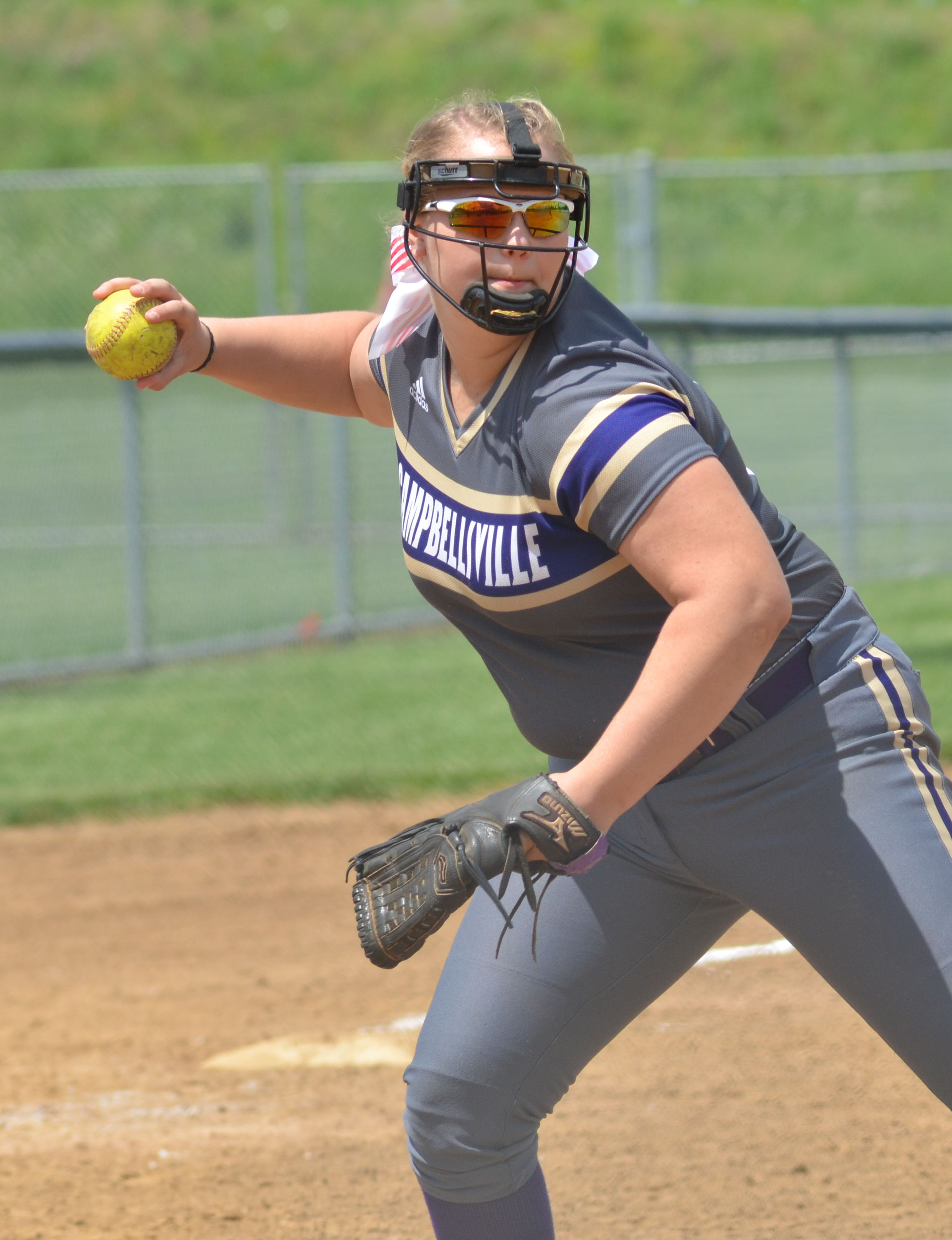 Campbellsville High School senior Brenna Wethington will continue her academic and softball career at Lindsey Wilson College this fall. She will soon begin her senior season with the CHS softball team.
