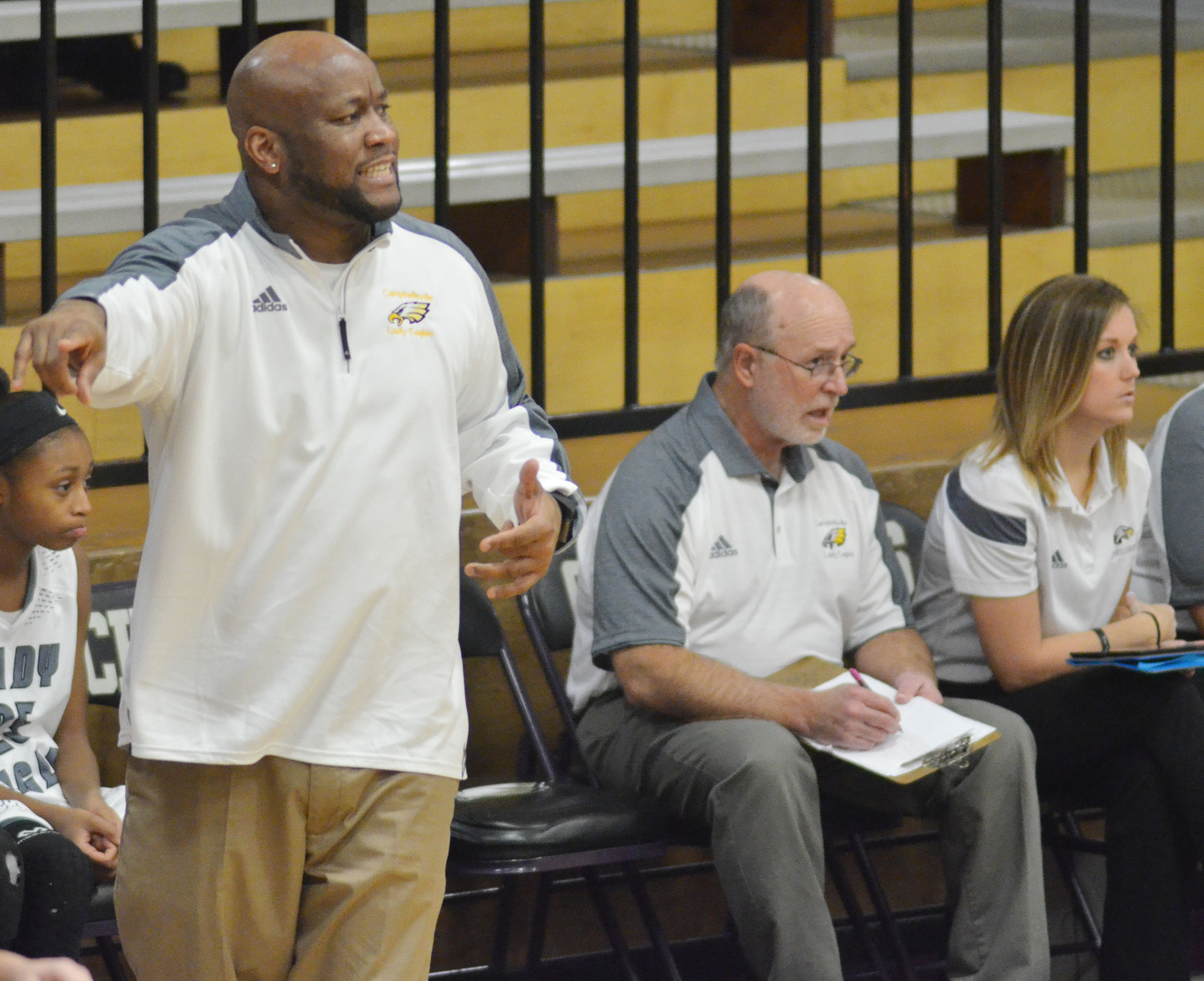 Campbellsville High School girls' basketball head coach Anthony Epps has been named the 2016-2017 5th region Coach of the Year.