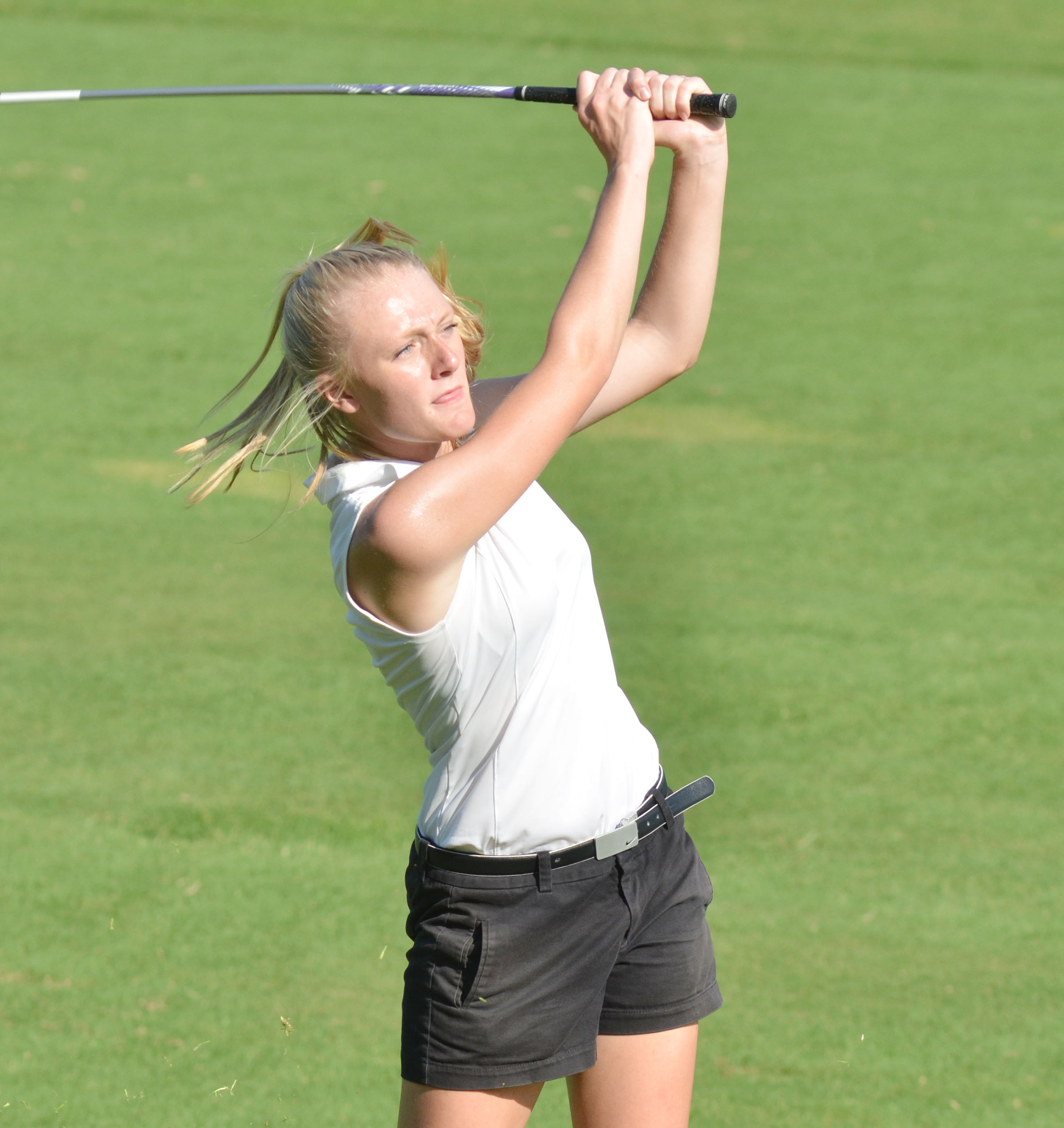 Campbellsville High School girls' golf player Abbie Dicken, a sophomore, recently competed at this year's region golf tournament and finished in 22nd place out of 64 competitors.