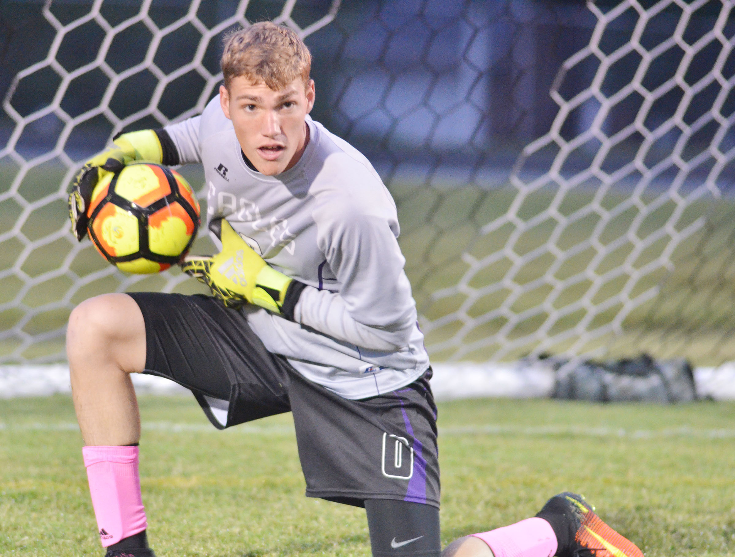 CHS senior Zack Bottoms now has the school record for the most consecutive shutouts, at three.