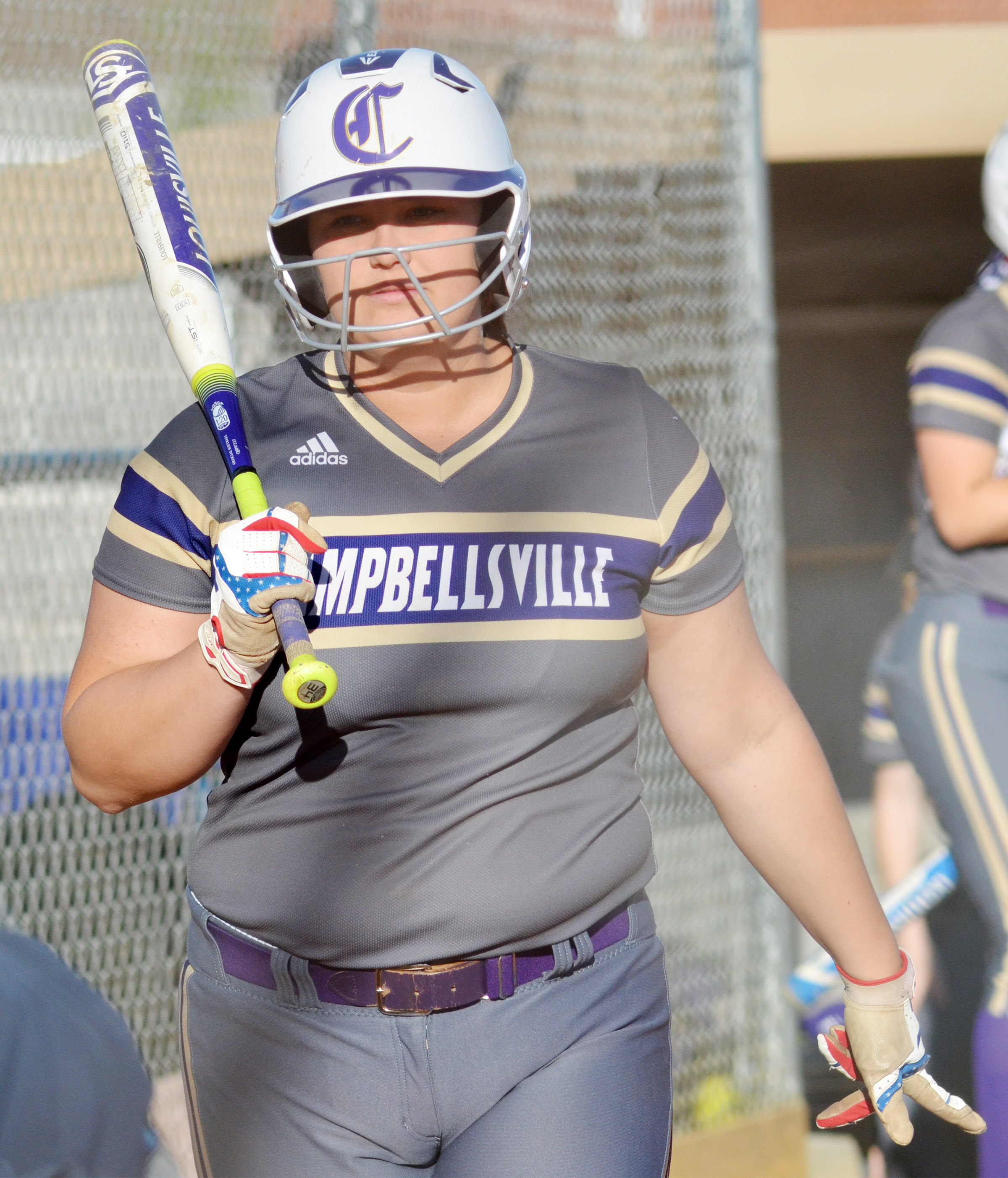 CHS senior Brenna Wethington steps to the plate.