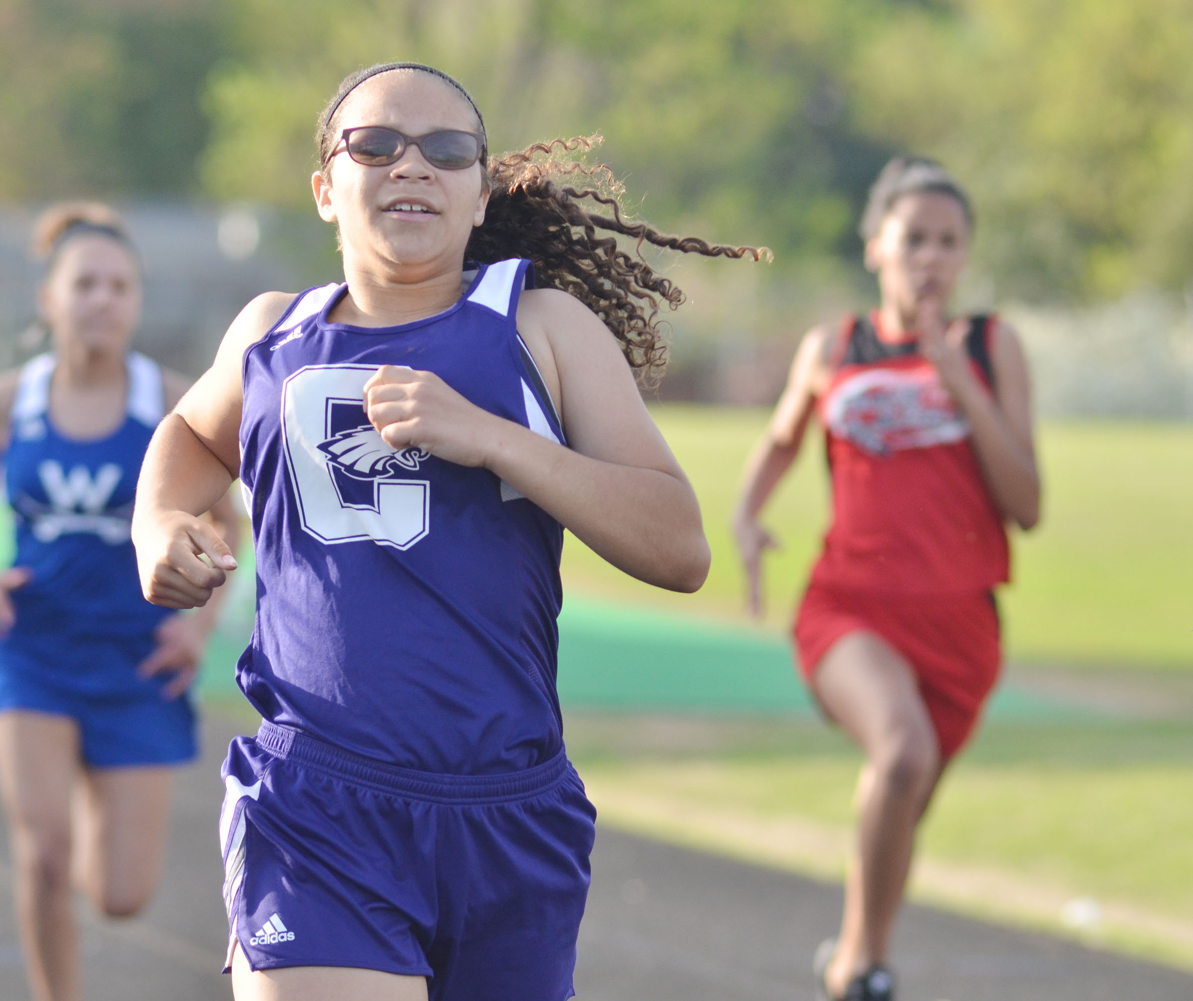 Campbellsville High School track star Taliyah Hazelwood has been chosen to represent her school and country while competing in Australia. She recently completed a very successful season on the CHS track team, culminating with a personal record at the KHSAA state meet.