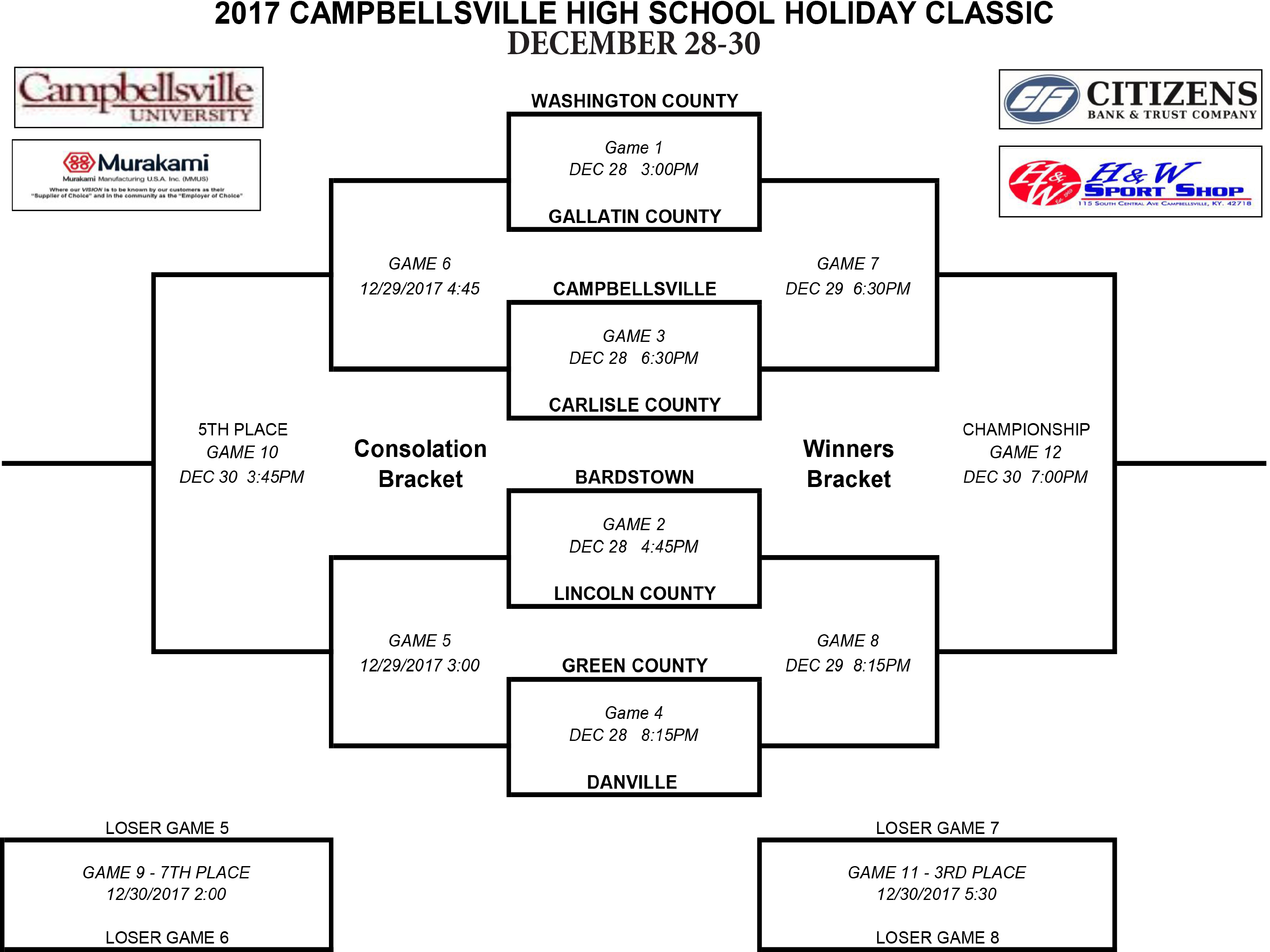 CHS Holiday Classic