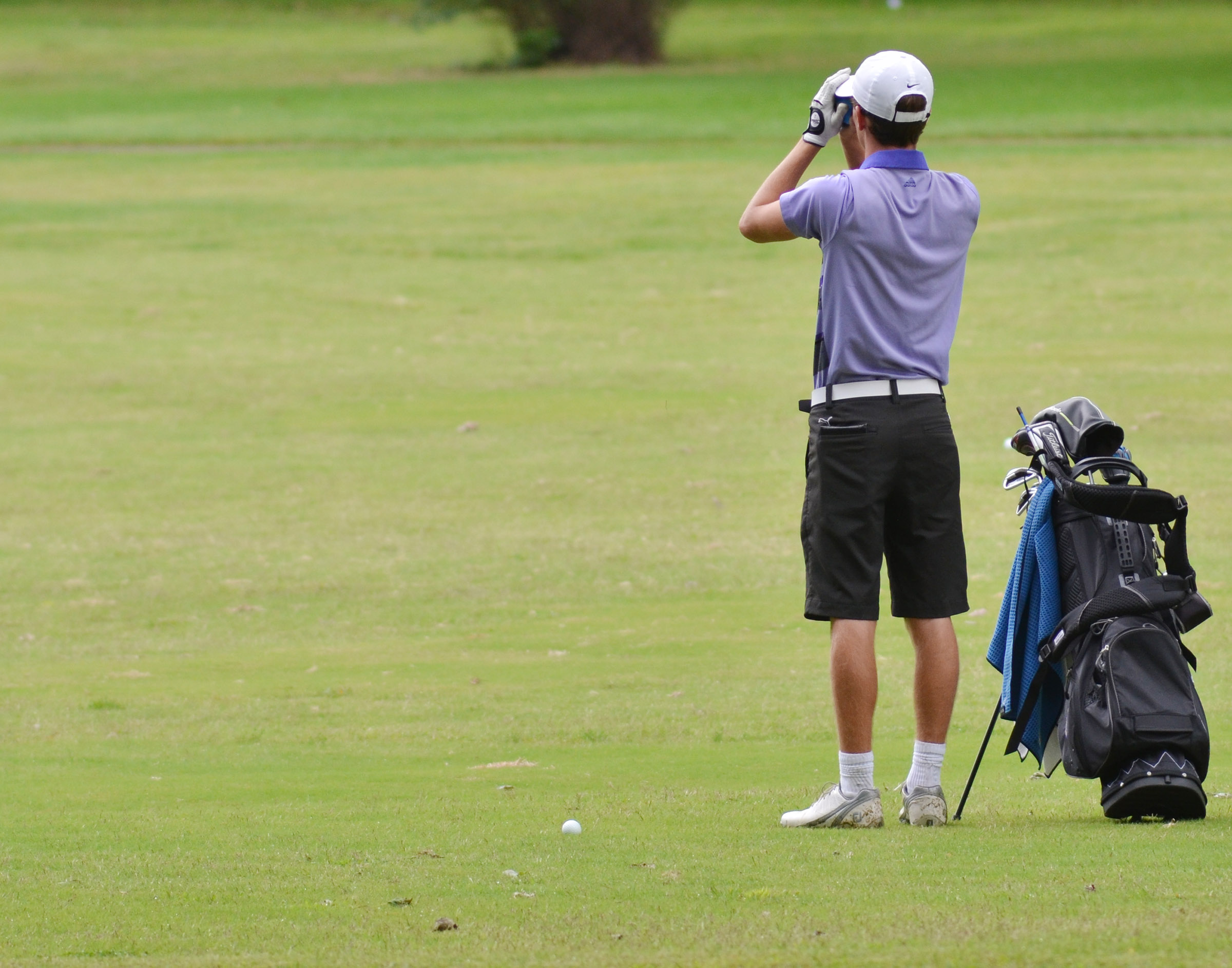 CHS junior Layton Hord eyes his shot.