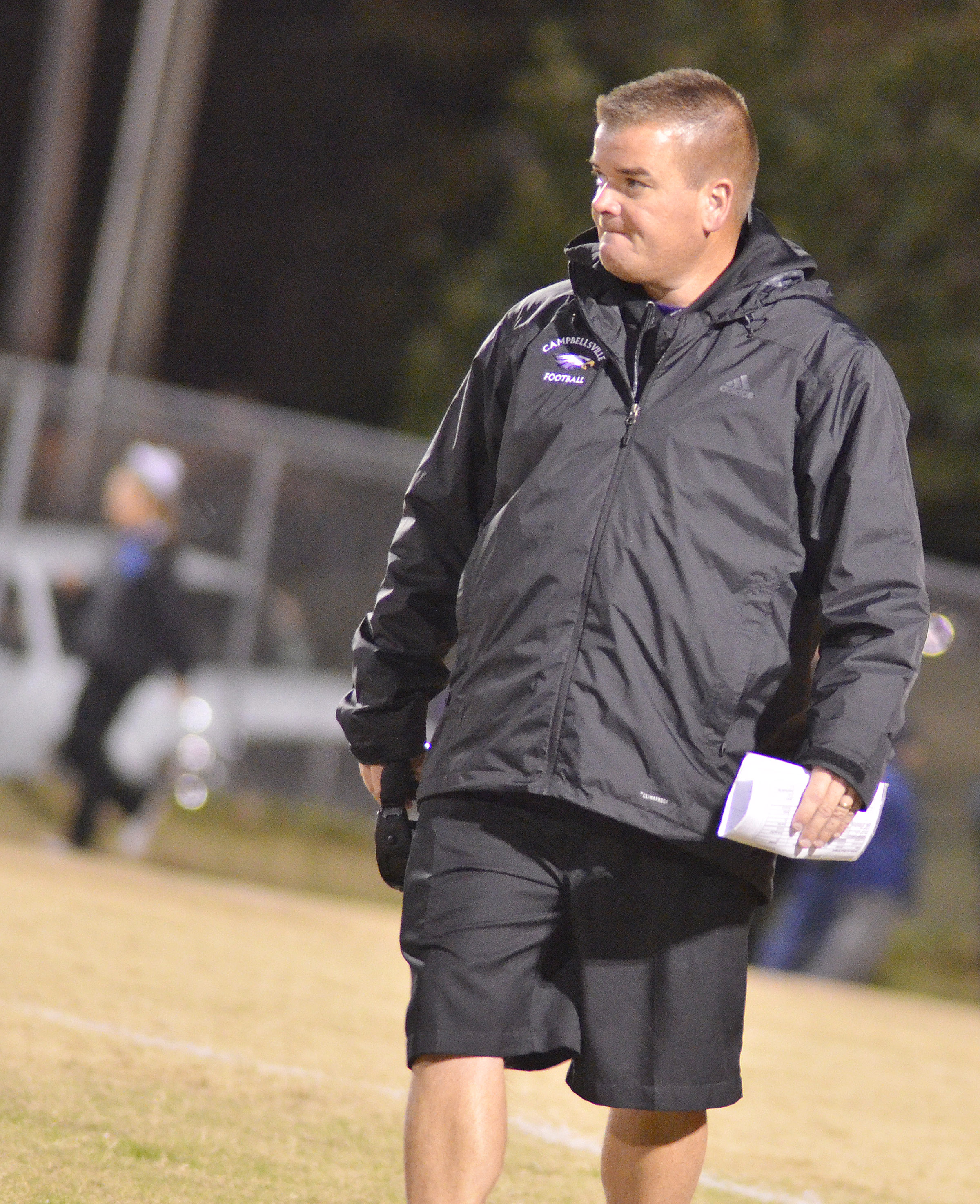 For the second year in a row, CHS head football coach Dale Estes was named Coach of the Year for Class A District 2.