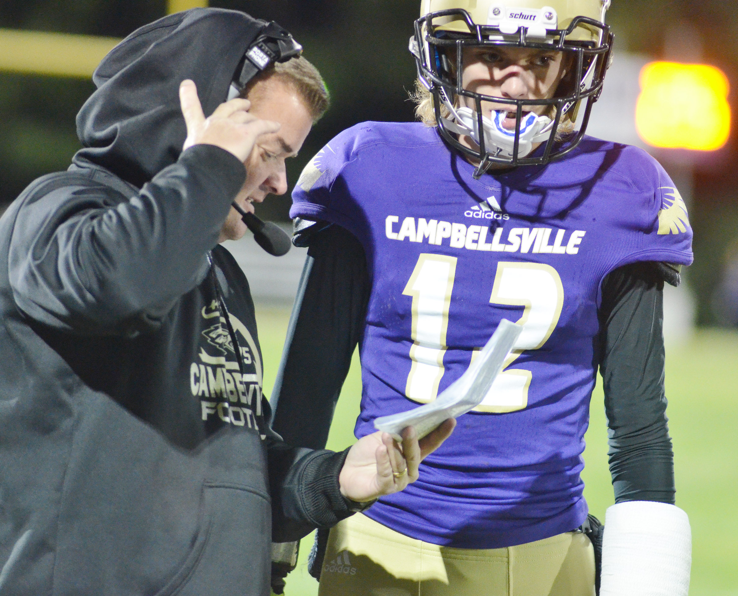 For the second year in a row, CHS head football coach Dale Estes was named Coach of the Year for Class A District 2. CHS freshman Arren Hash was named to the Kentucky Prep All-Freshmen team.