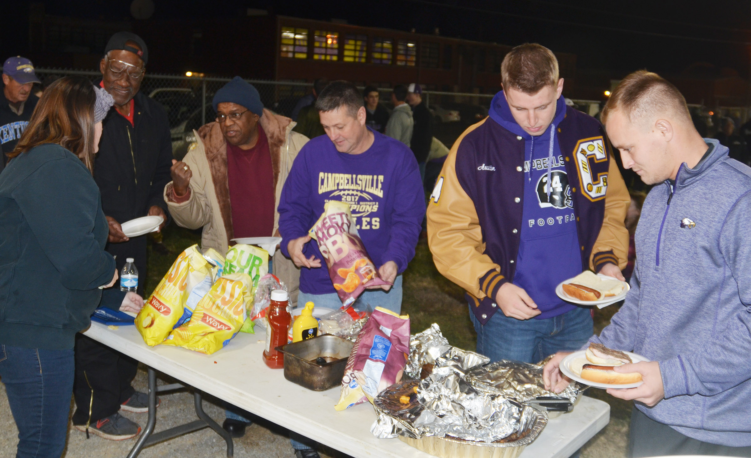 CHS hosted a tailgate before the game for students, staff members and fans. Several alumni also attended.