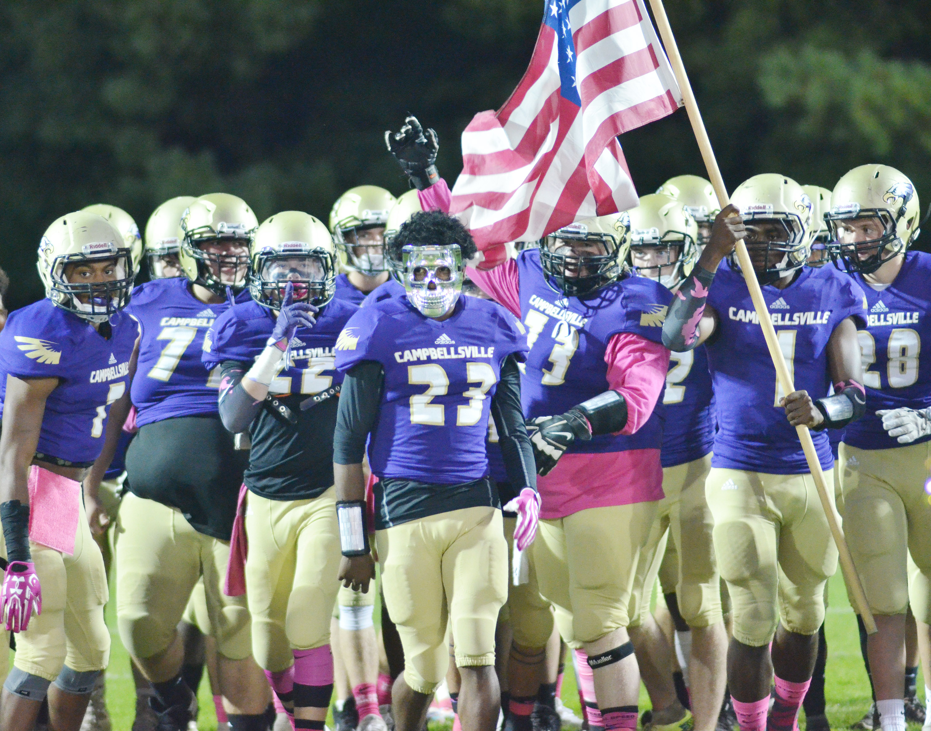 Campbellsville High School football team is set to take on Russellville on Friday, Nov. 10, in the second round of the Kentucky High School Athletic Association playoffs.    Kickoff is at 8 p.m. at Dave Fryrear Field on the CHS campus.    CHS defeated Fulton City High School on Friday, Nov. 3, to advance to the second round.