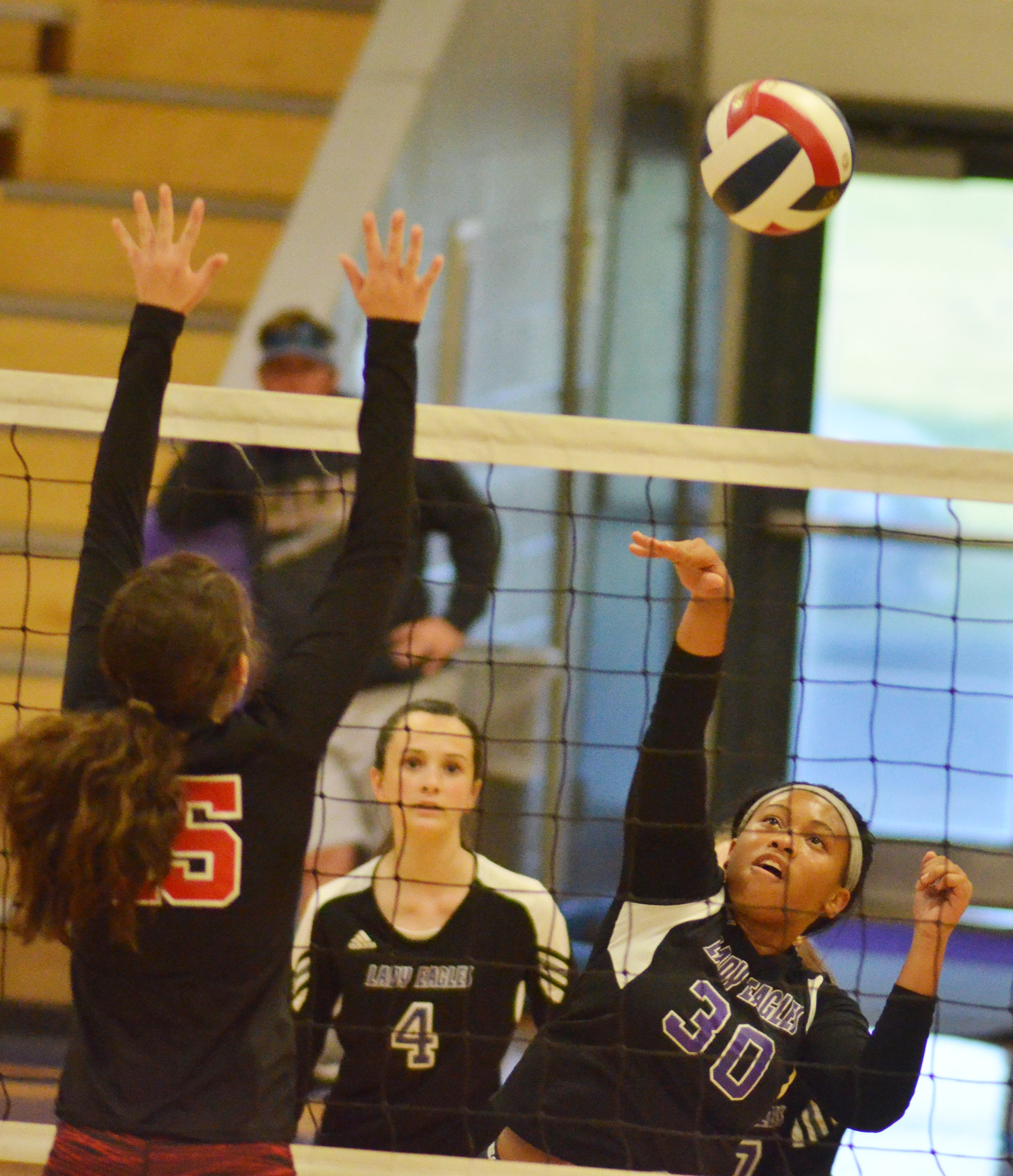 CHS sophomore Ketayah Taylor hits the ball.