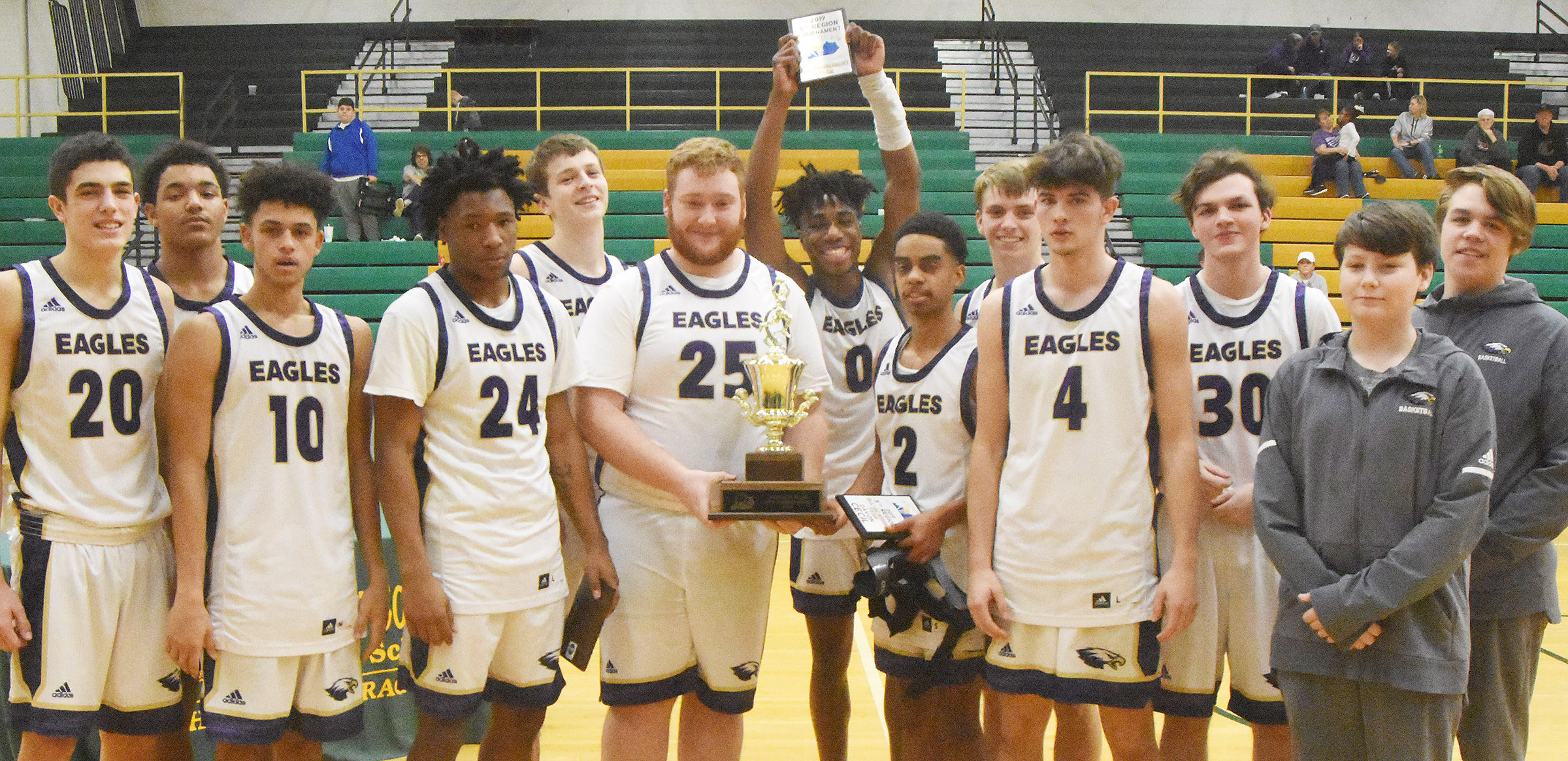 "Campbellsville High School will offer a pep bus for students to ride to the All ""A"" state tournament basketball game.    CHS boys' basketball team will play in the All ""A"" state tournament on Thursday, Jan. 24, and school has been dismissed that day to allow students and staff members to cheer for the Eagles."
