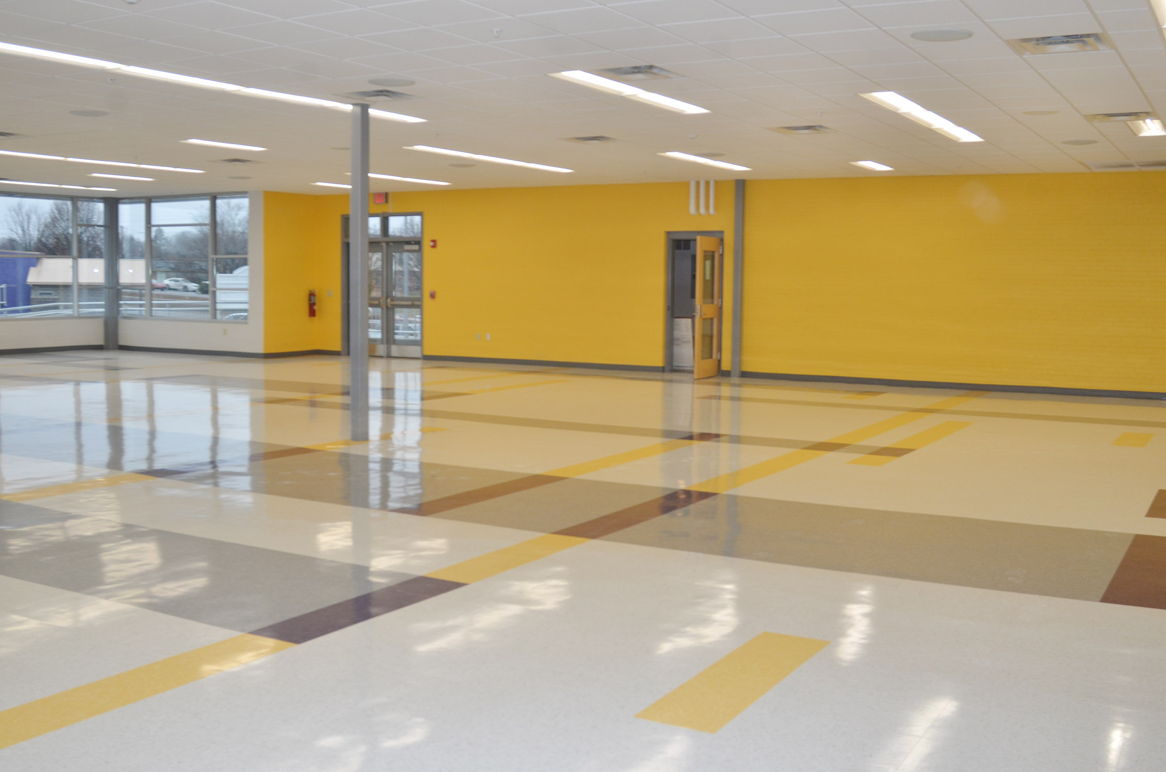 The new CES cafeteria will be open soon.