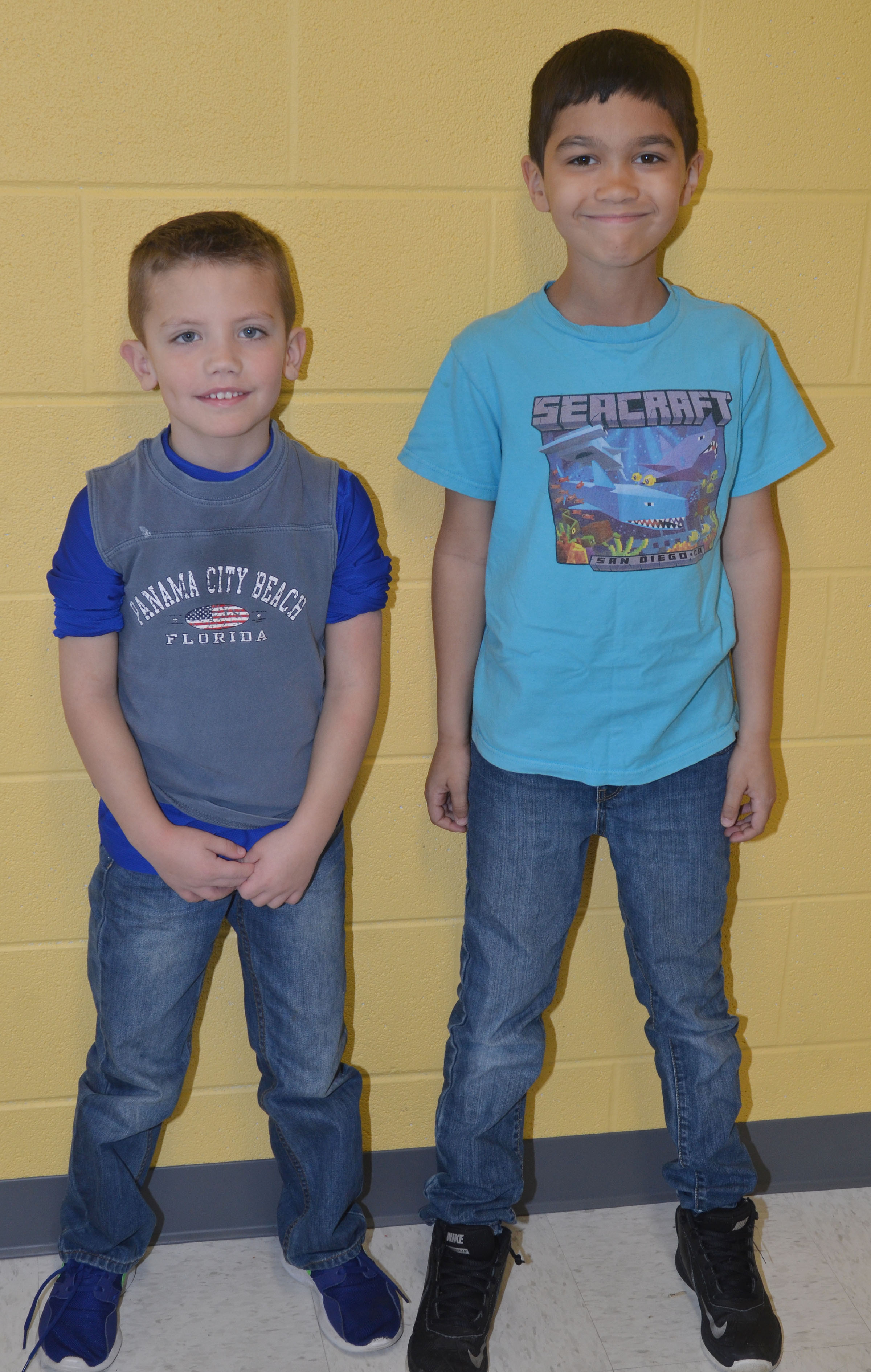 CES students dress for Going Places Day.