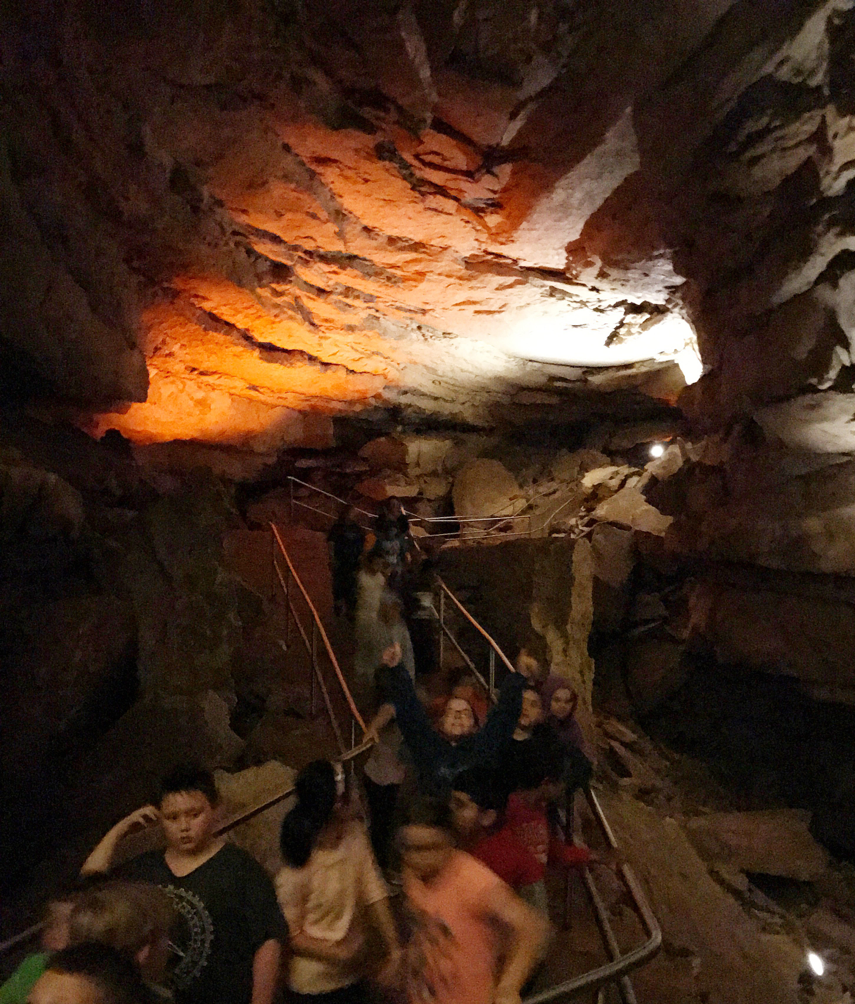 CES fourth-graders take a tour of Mammoth Cave.