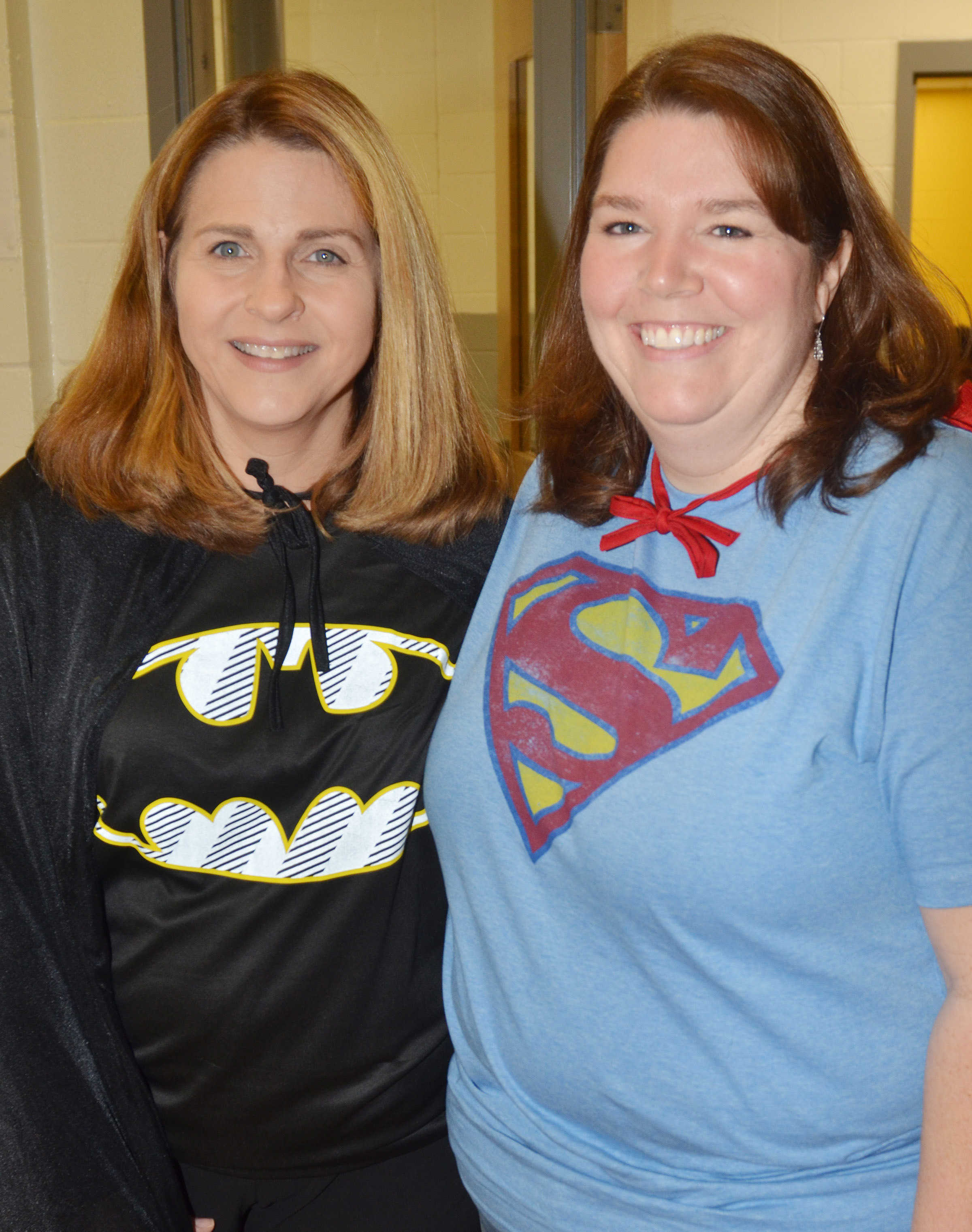 CES students and teachers wear superhero clothing, because superheroes don't do drugs.