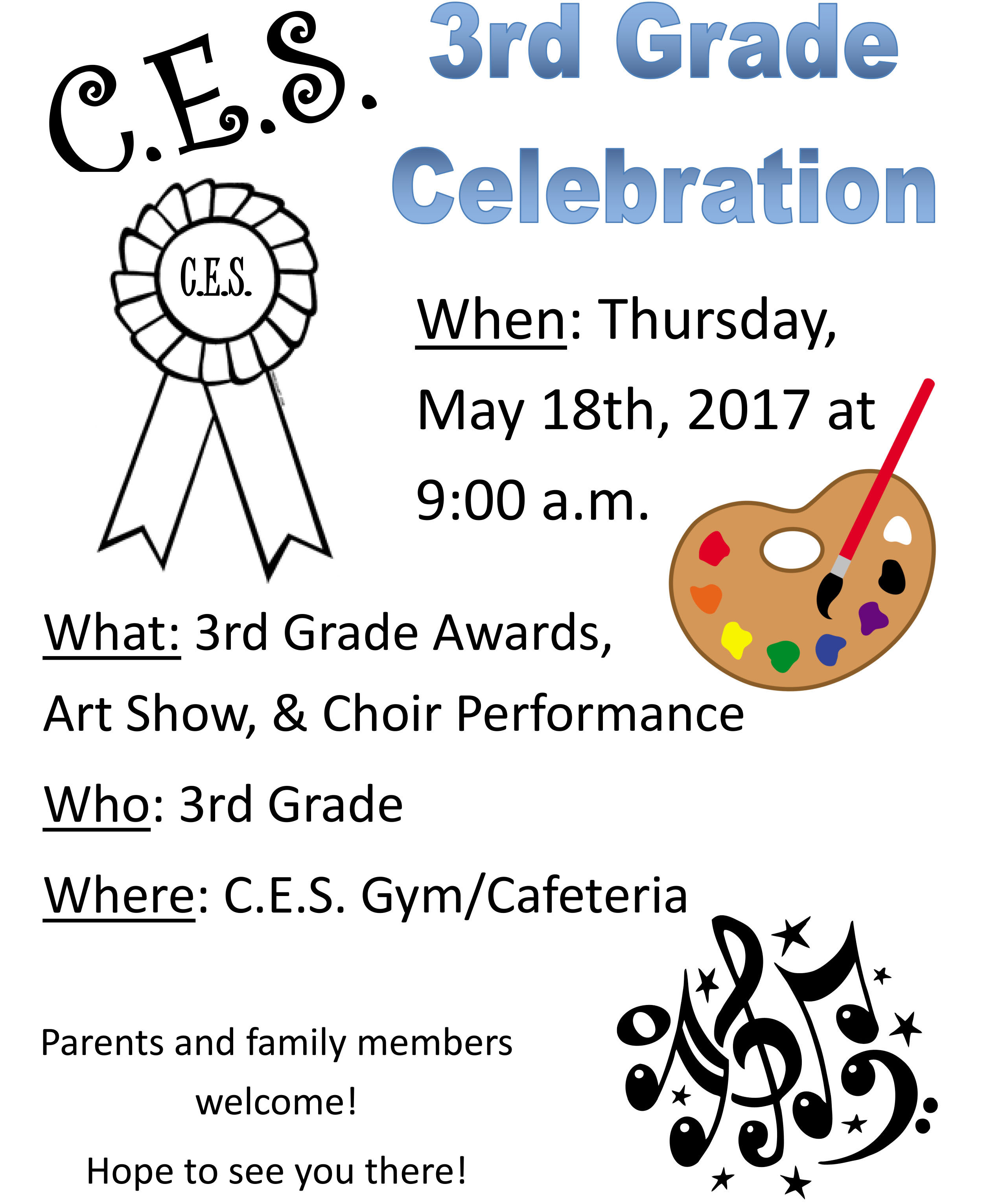 CES Third-Grade Awards
