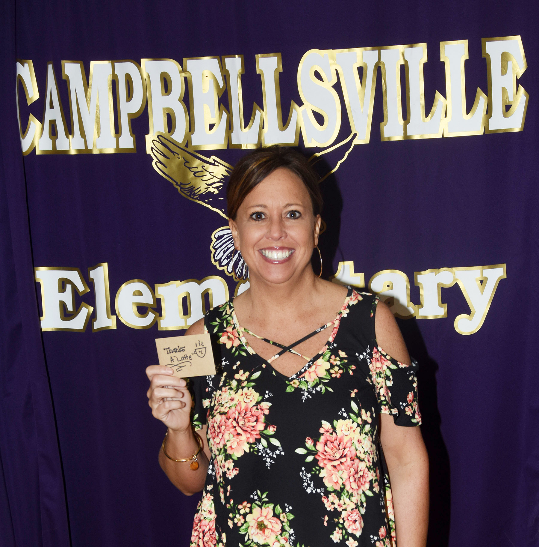Farrah Hord, a reading interventionist at Campbellsville Elementary School, was recently named Teacher of the Week for the week of May 7.