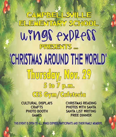 Ces Wings Express Program To Host Christmas Around The World