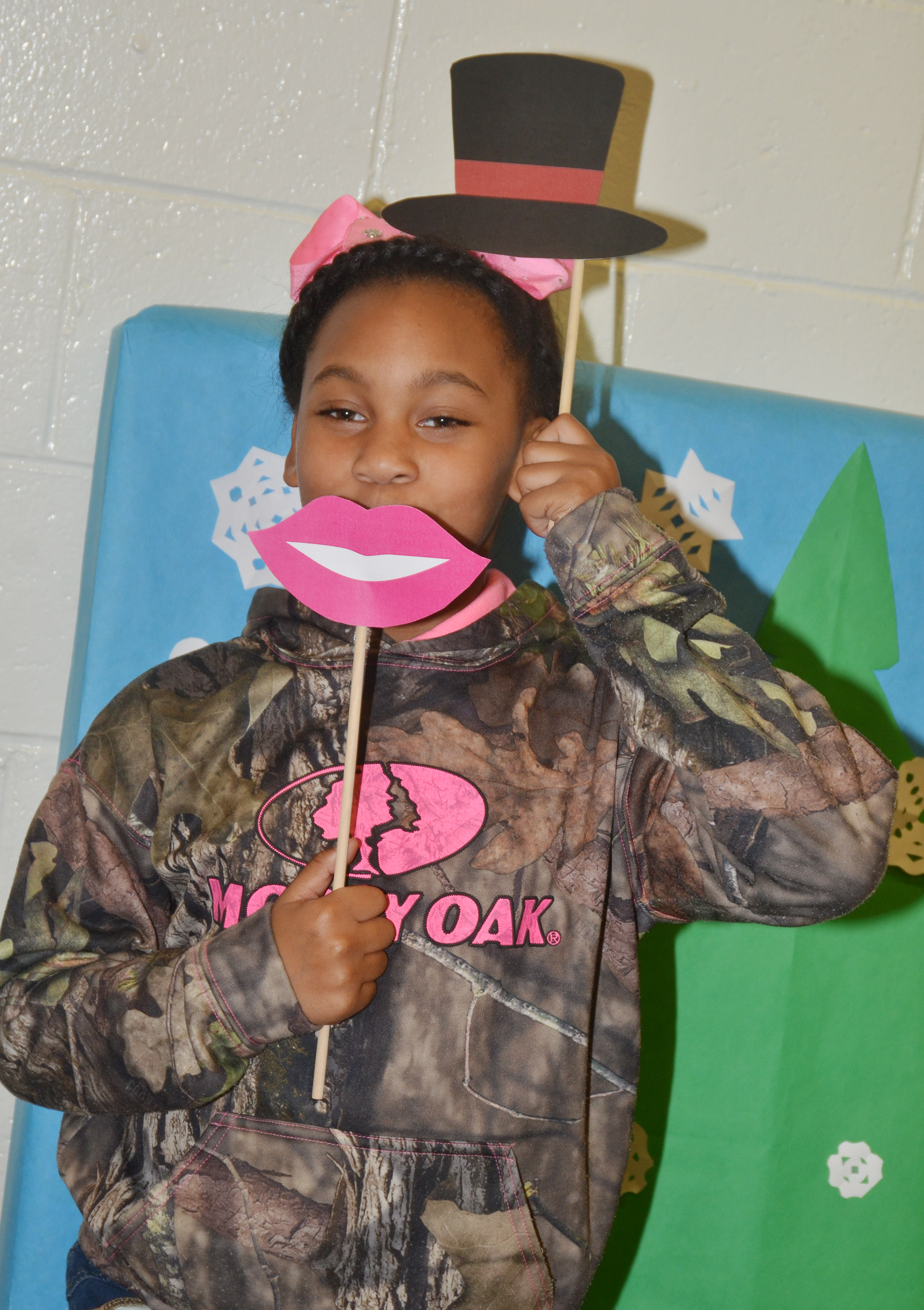 CES second-grader Aliy Dunn poses for a photo.