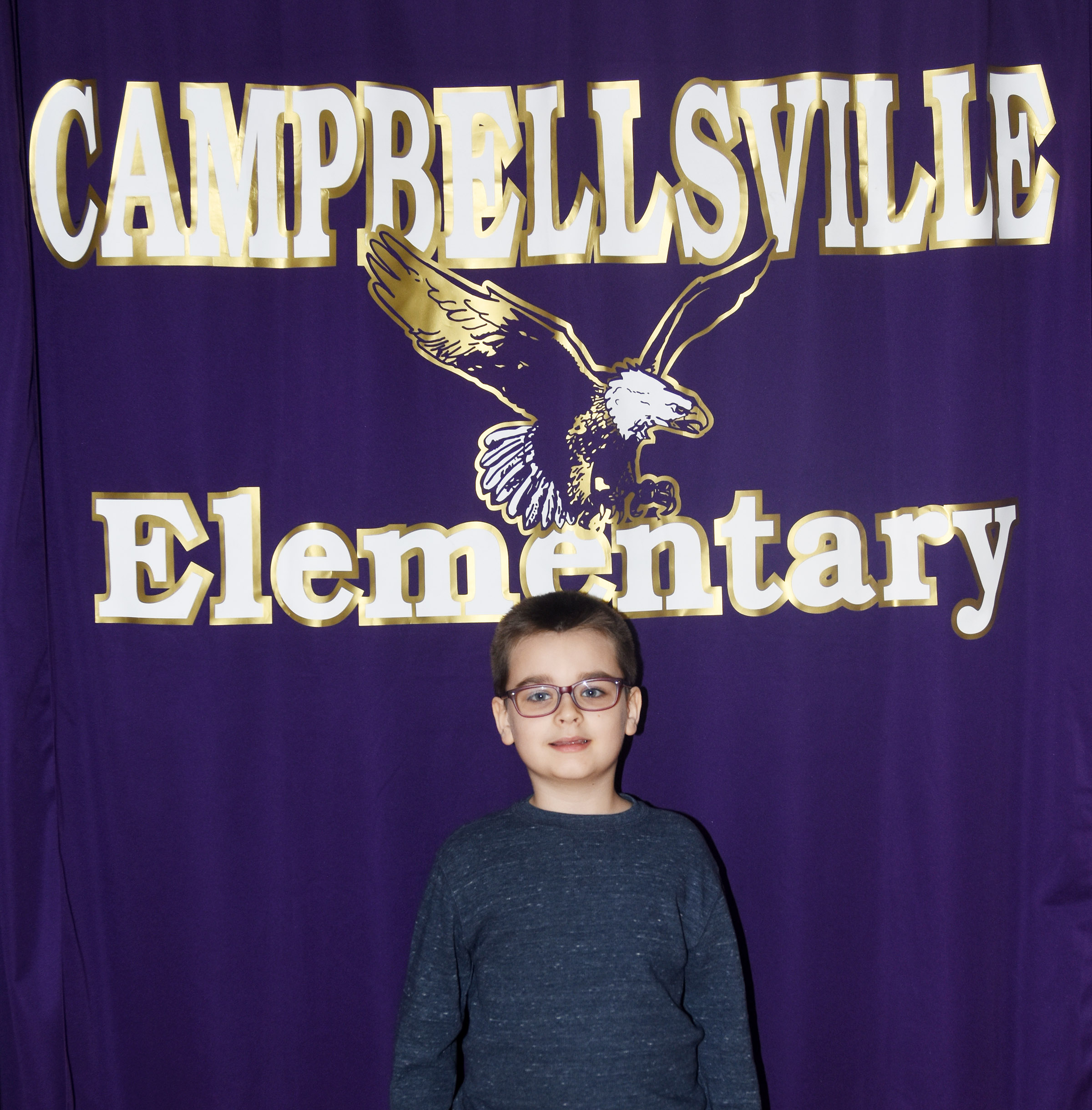 CES second-grader Sawyer Lange was named his school's Writer of the Week for the week of March 19.