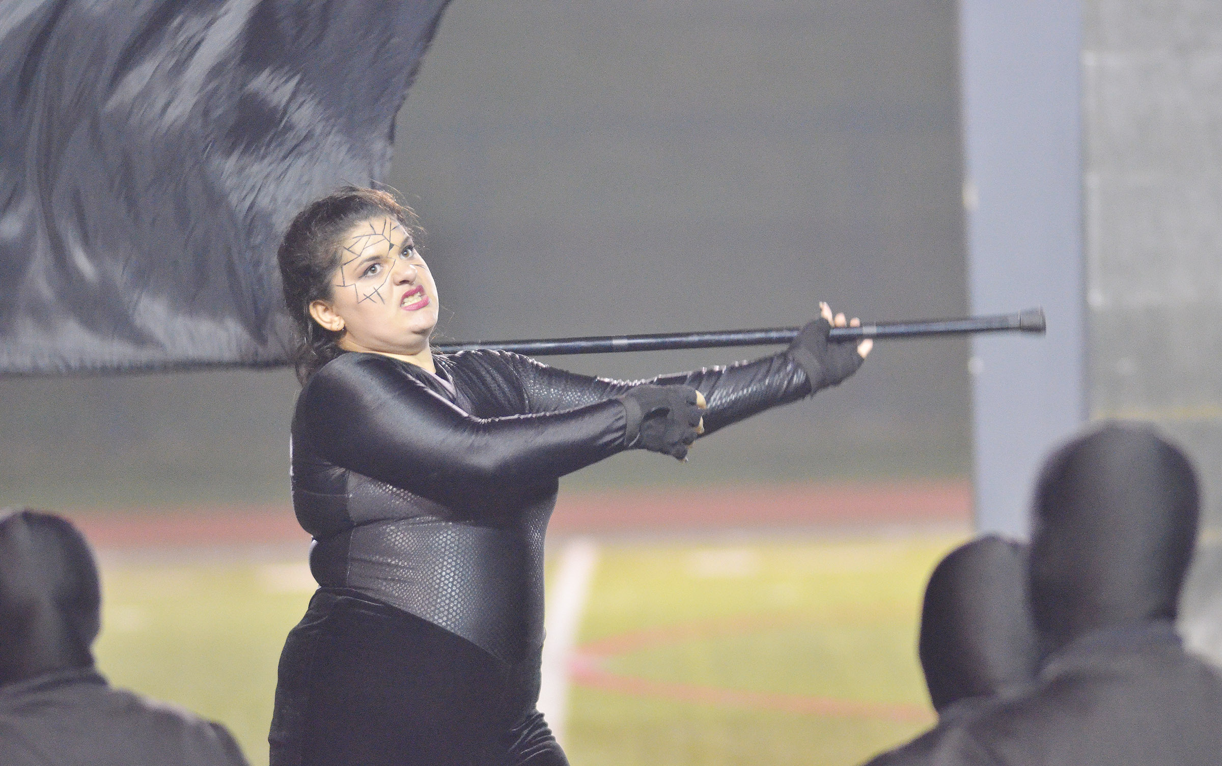 CHS sophomore Brandy Miller performs in finals competition.