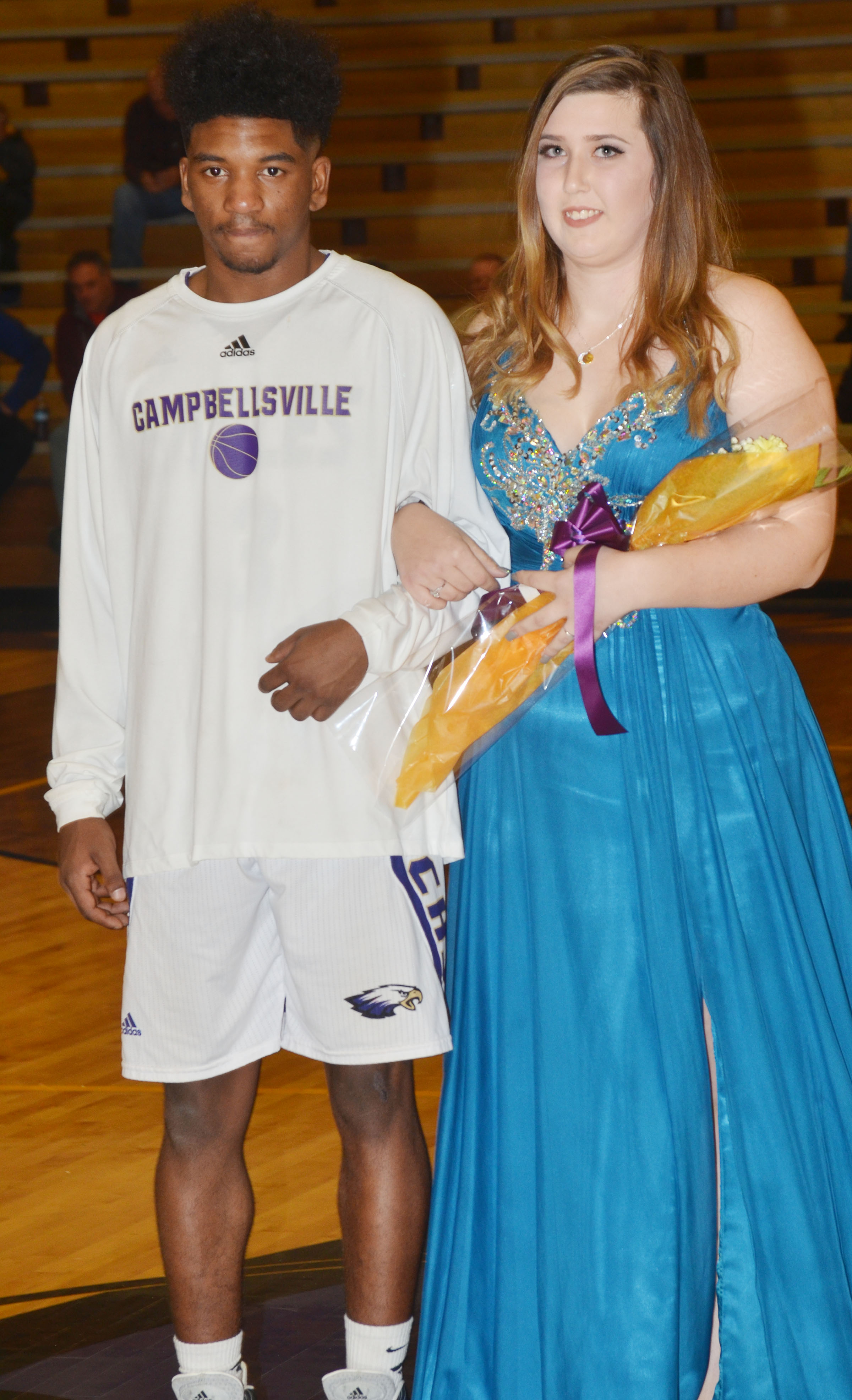 Jenny Lantz and Tyrion Taylor represented the CHS junior class.