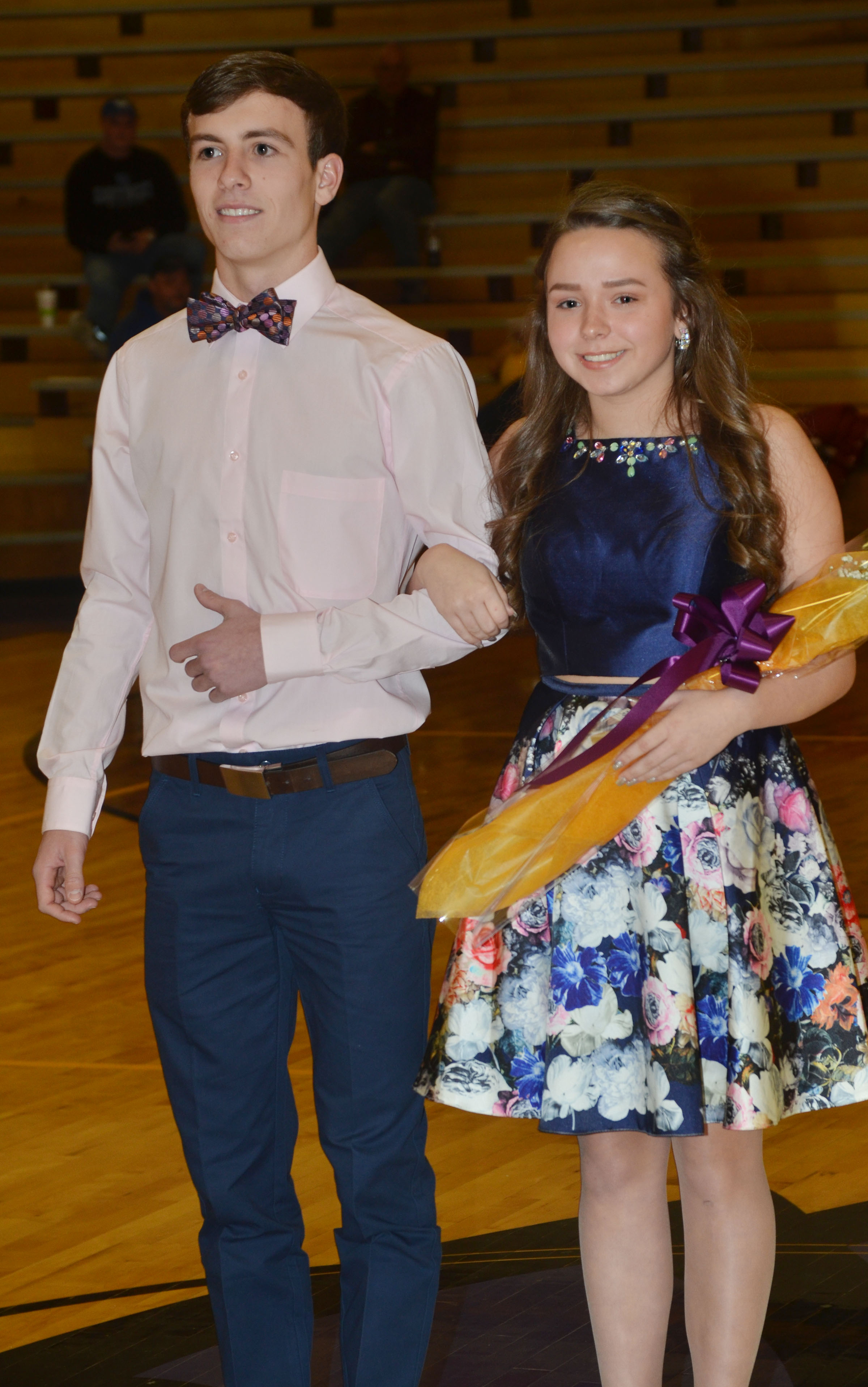 Christa Riggs and Layton Hord represented the CHS sophomore class.