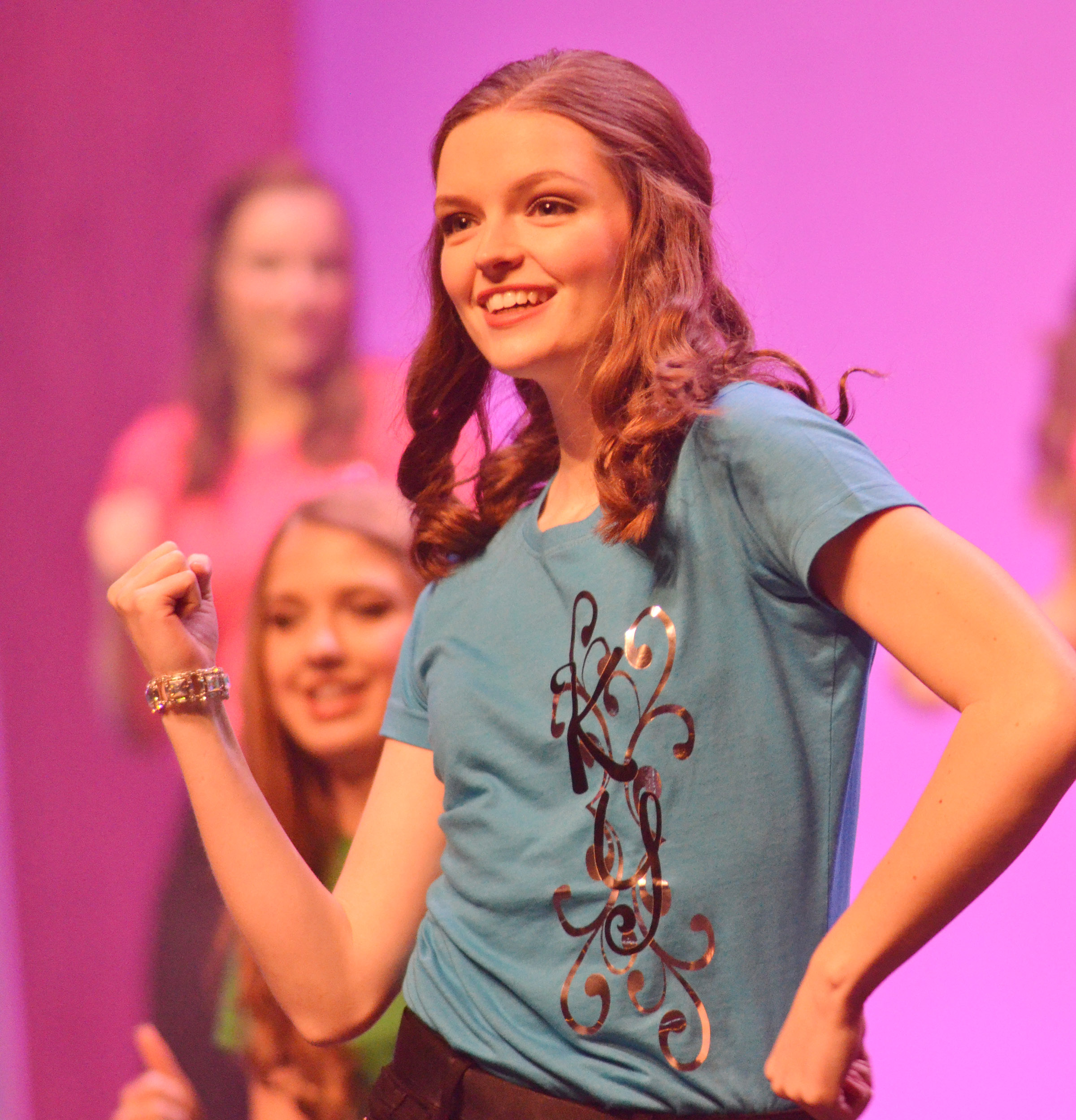 CHS senior Blair Lamb competes in the state DYW program. She was named fourth runner-up.