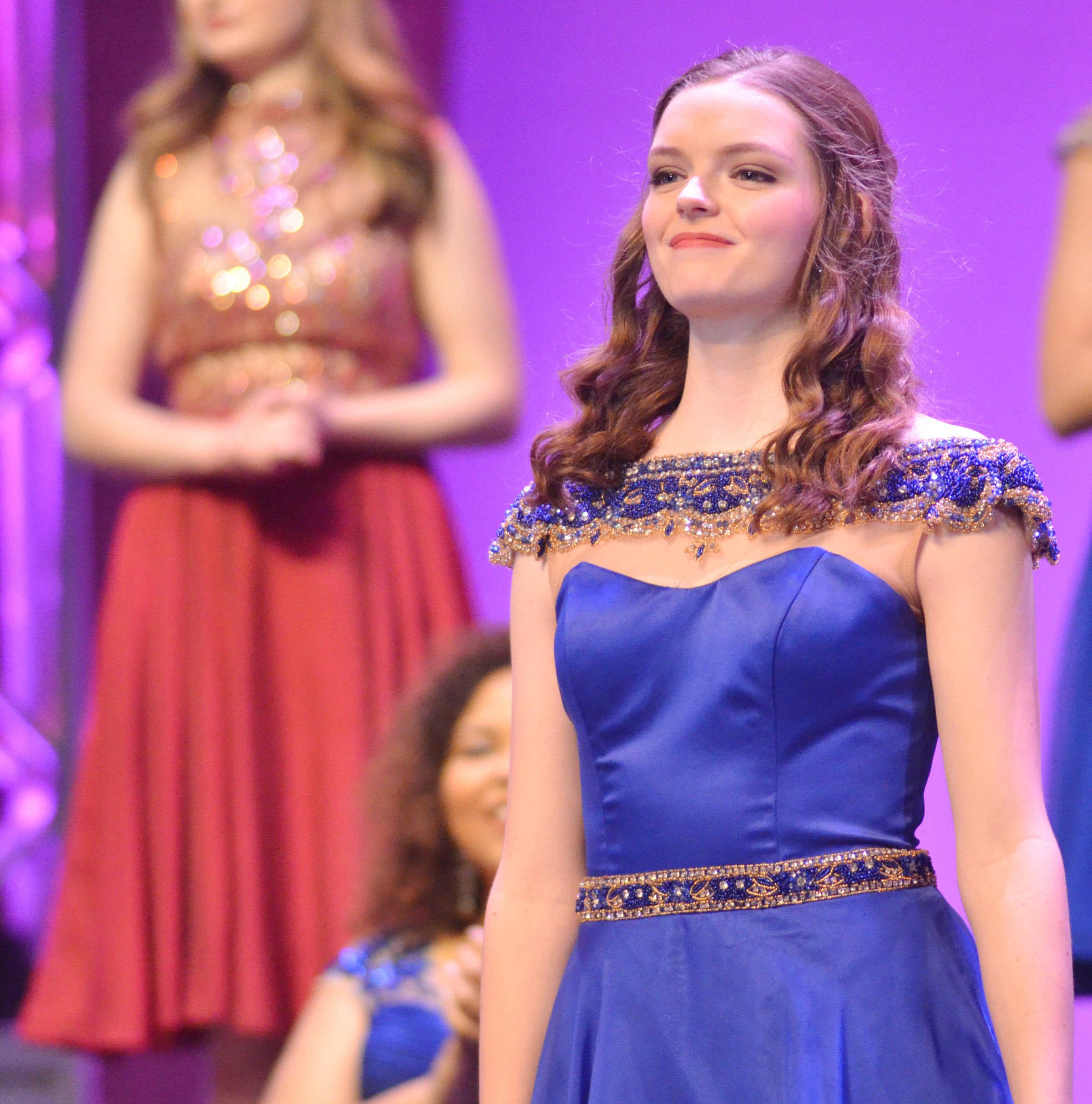 CHS senior Blair Lamb is named fourth runner-up in the state DYW program.