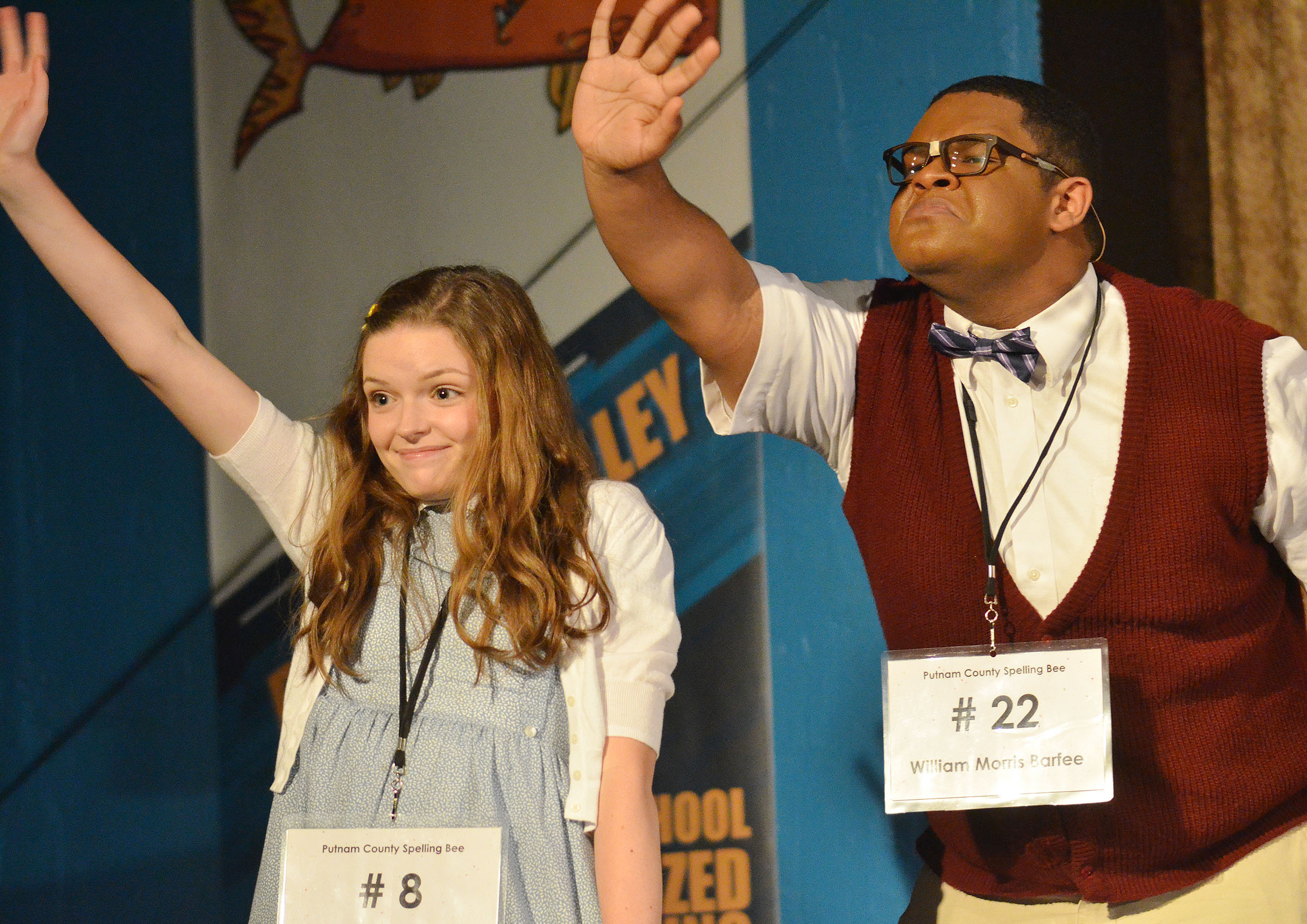 "CHS junior Jeremiah Jackson, who attended the Governor's School for the Arts program this summer, has been cast in the upcoming Campbellsville University production of ""The Drowsy Chaperone."" He is pictured performing in the CU production of ""The 25th Annual Putnam County Spelling Bee."""