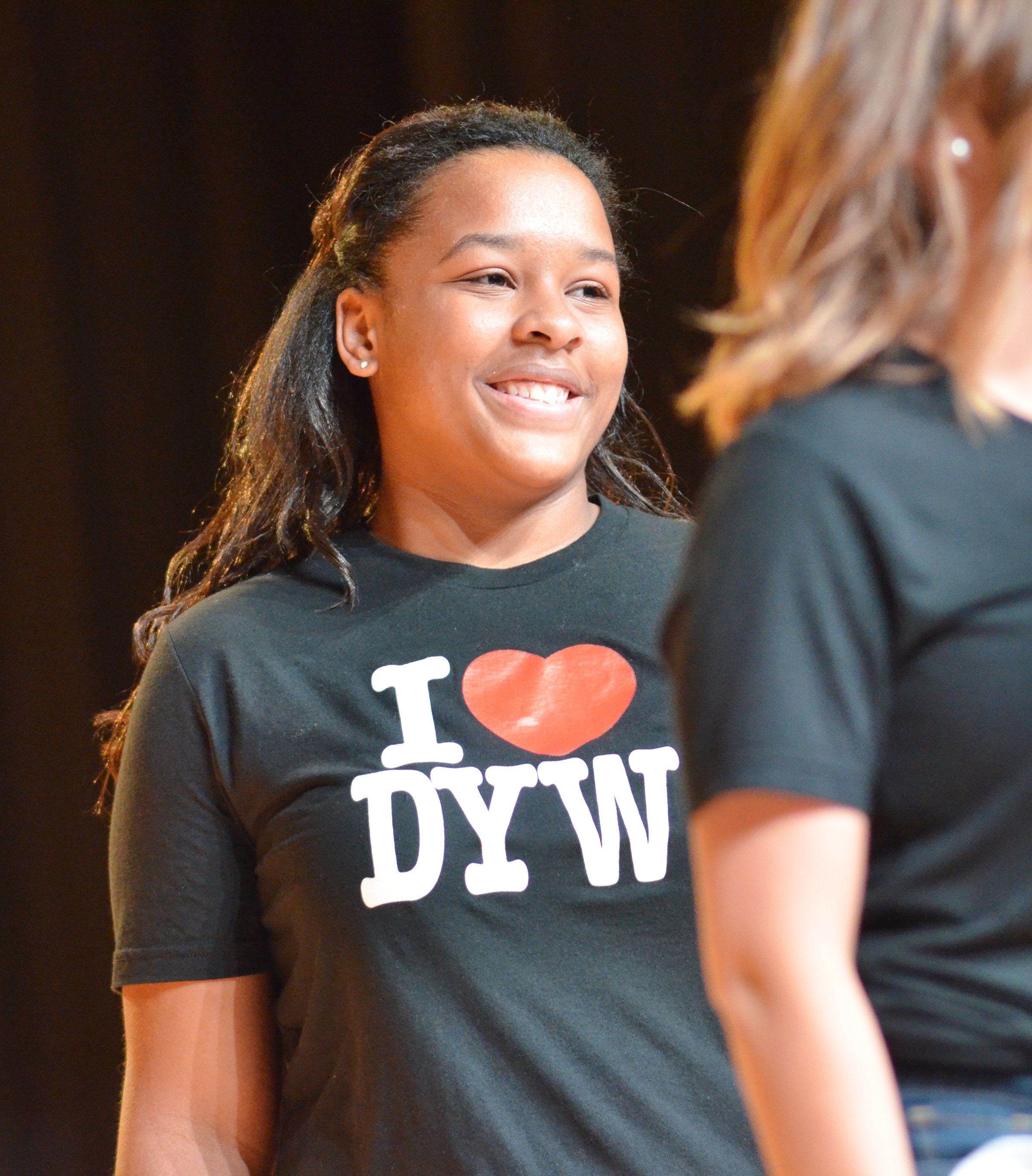 CHS senior Kayla Young competes in the Taylor County DYW program.