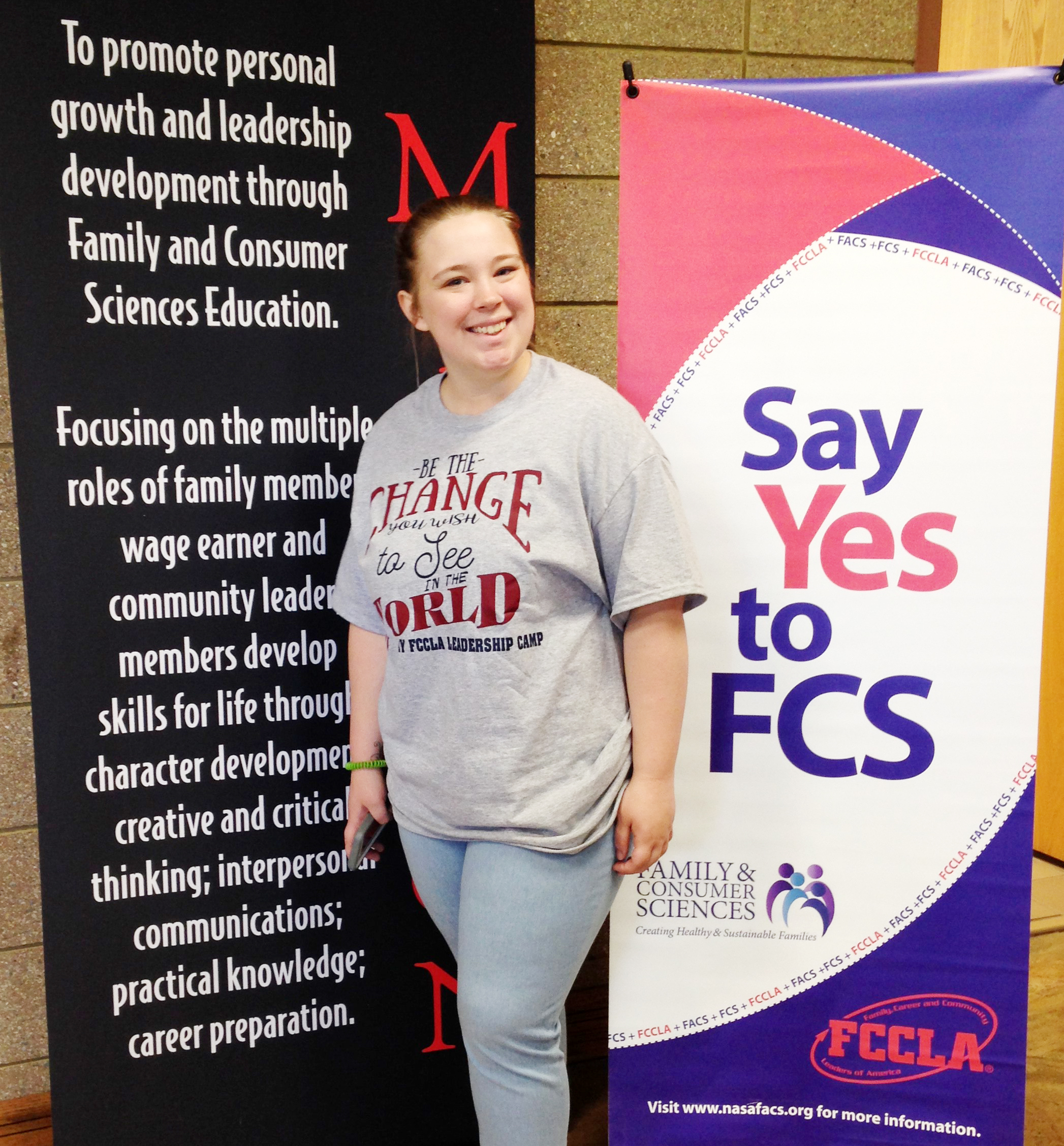 Campbellsville High School junior Destiny Deason attended the Kentucky Family, Career and Community Leaders of America State Leadership Camp in Hardinsburg on June 4-6. She is Region 14 first vice president, and attended the three-day camp to train for her position.