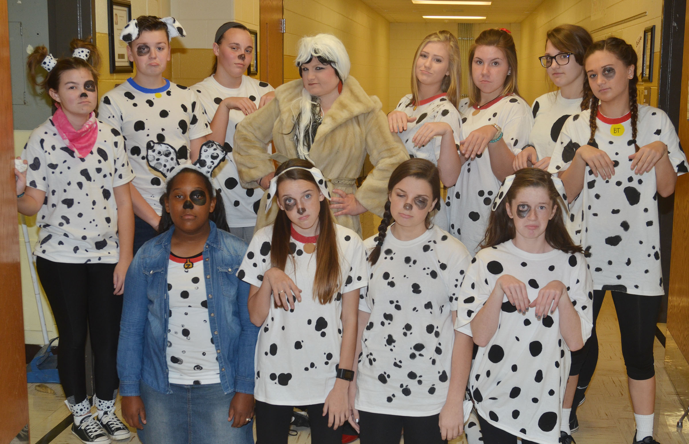 CHS students and staff members dress for Straight Outta The Screen Day.