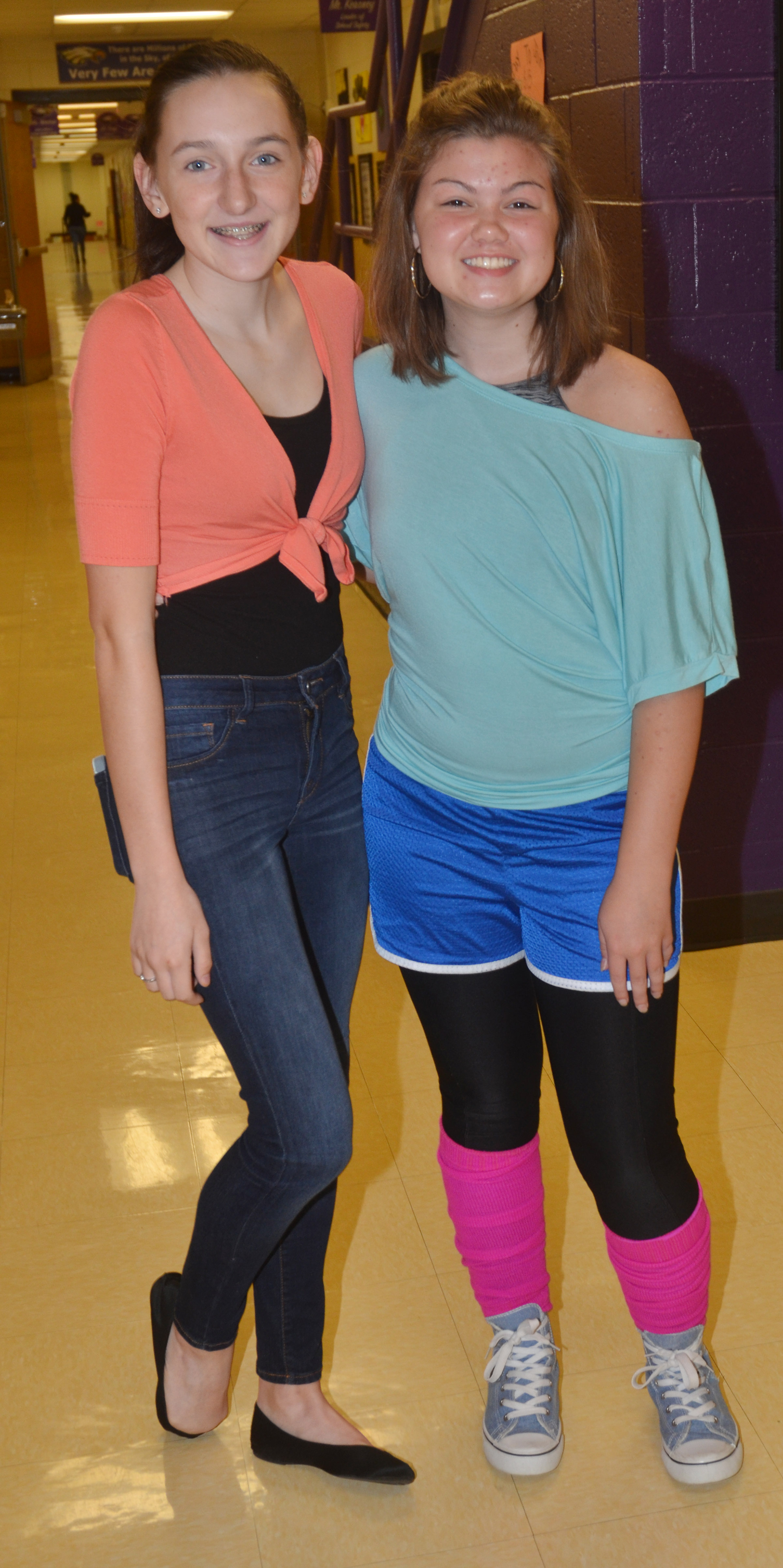CHS students dress for Blast Through the Past Day.