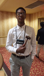 CHS freshman Zaquan Cowan was elected as president of the Bluegrass Senate.