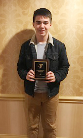 CHS sophomore Cole Kidwell received an Outstanding Speaker Award.