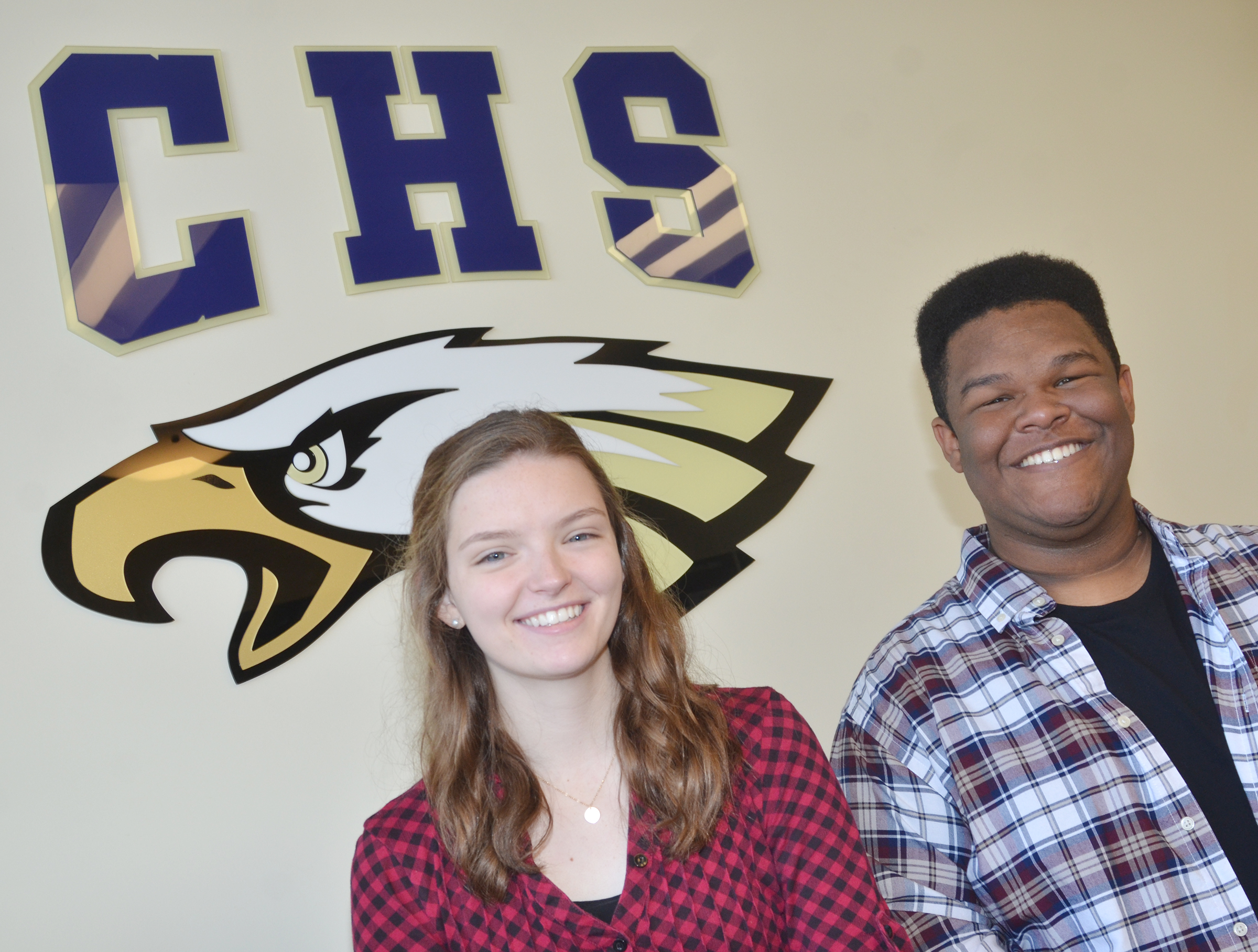 Campbellsville High School senior Blair Lamb and sophomore Jeremiah Jackson have been chosen to participate in all-state choir.