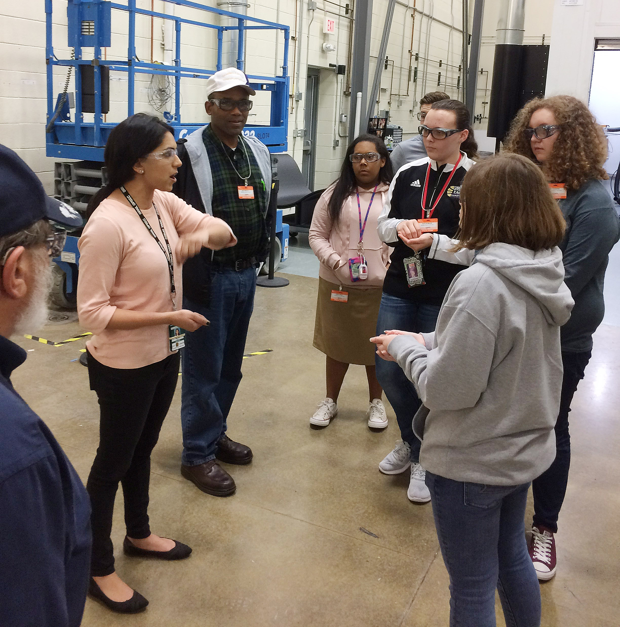 Campbellsville High School students recently took a tour of the Oak Ridge National Laboratory in Tennessee.