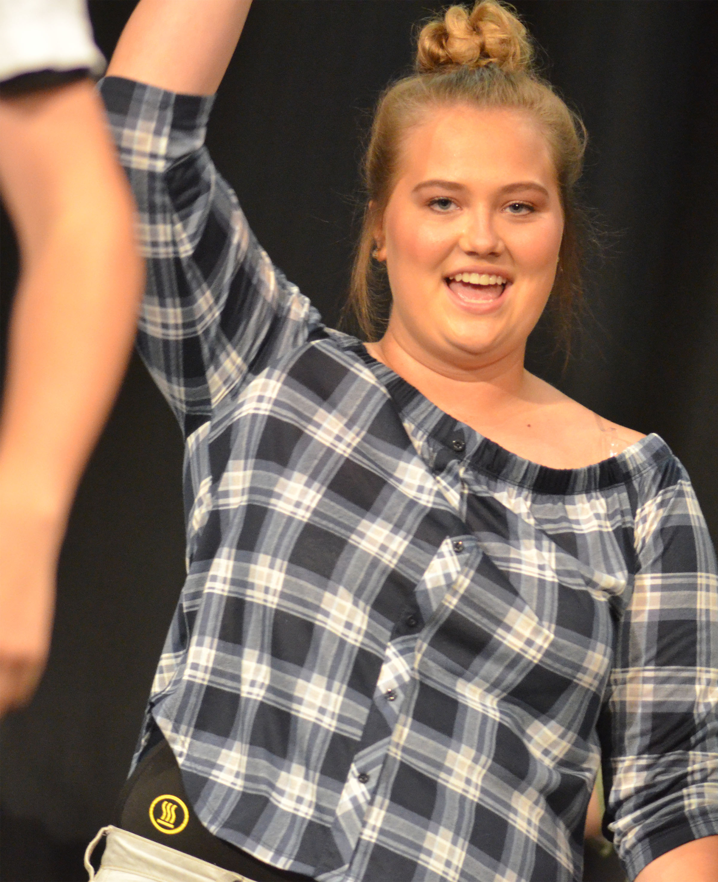 CHS senior Brenna Wethington dances.