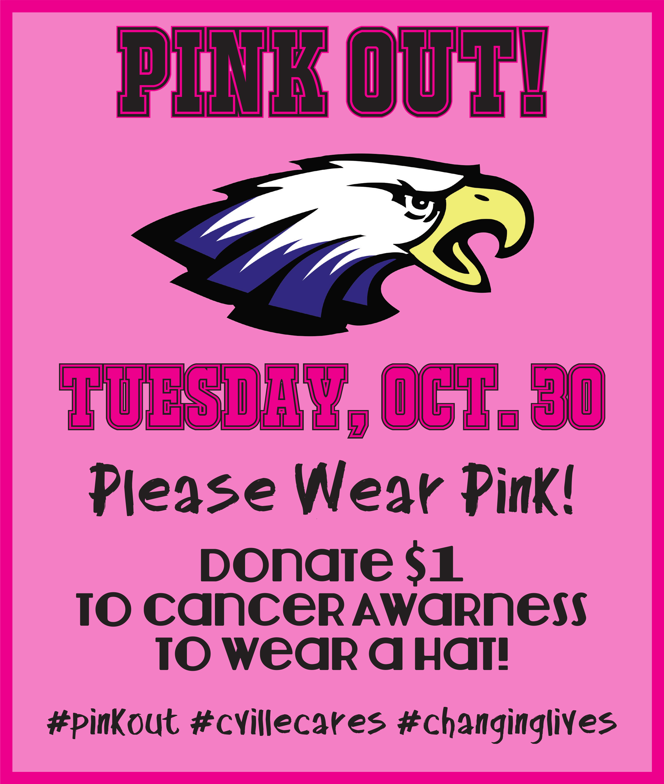 CIS Pink Out